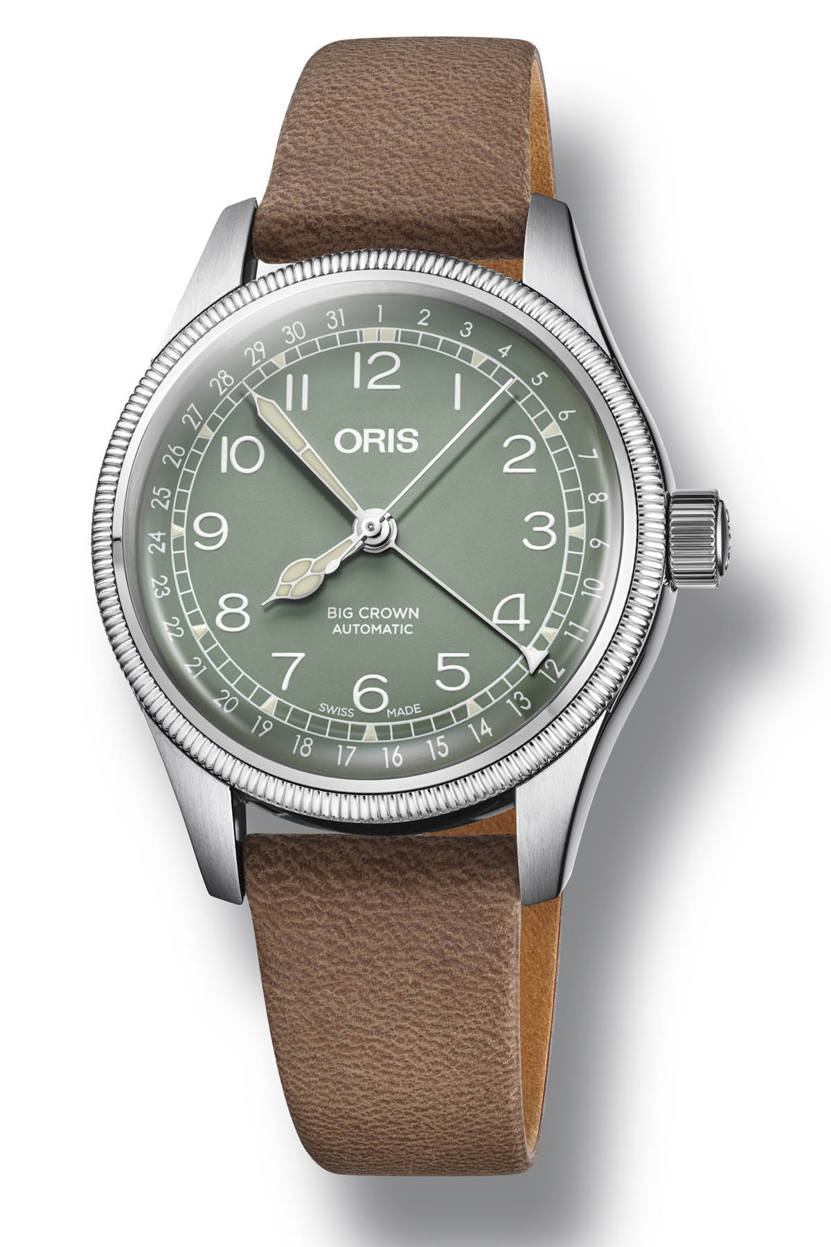 Oris Big Crown Pointer Date steel 36mm - Baselworld 2018