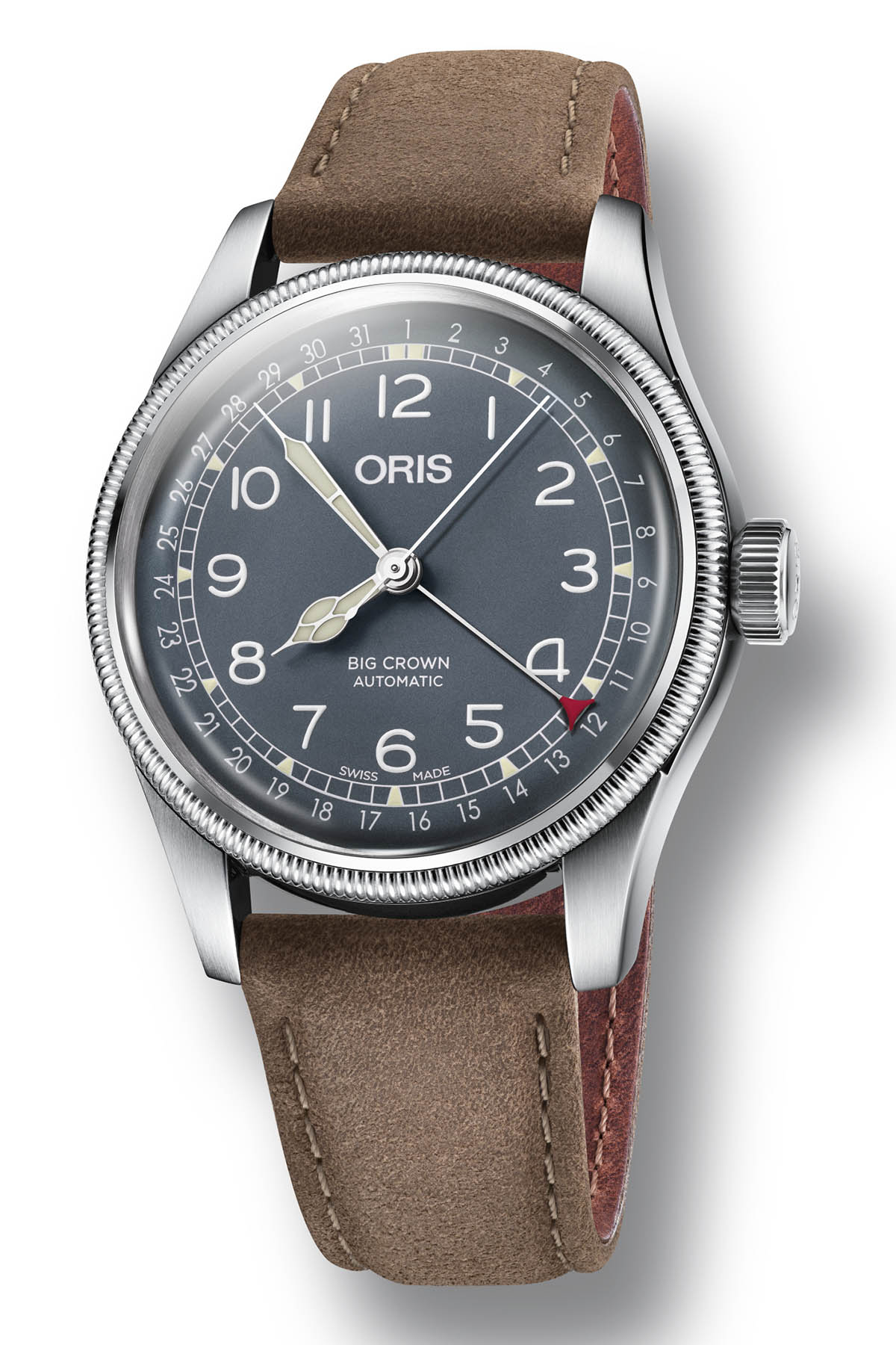 Oris Big Crown Pointer Date steel 40mm - Baselworld 2018