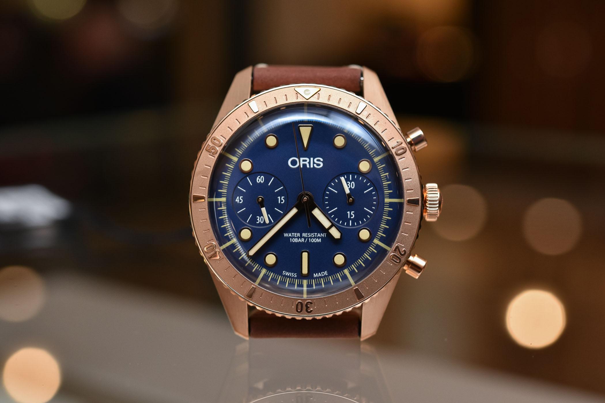 Oris Carl Brashear Chronograph Limited Edition Bronze