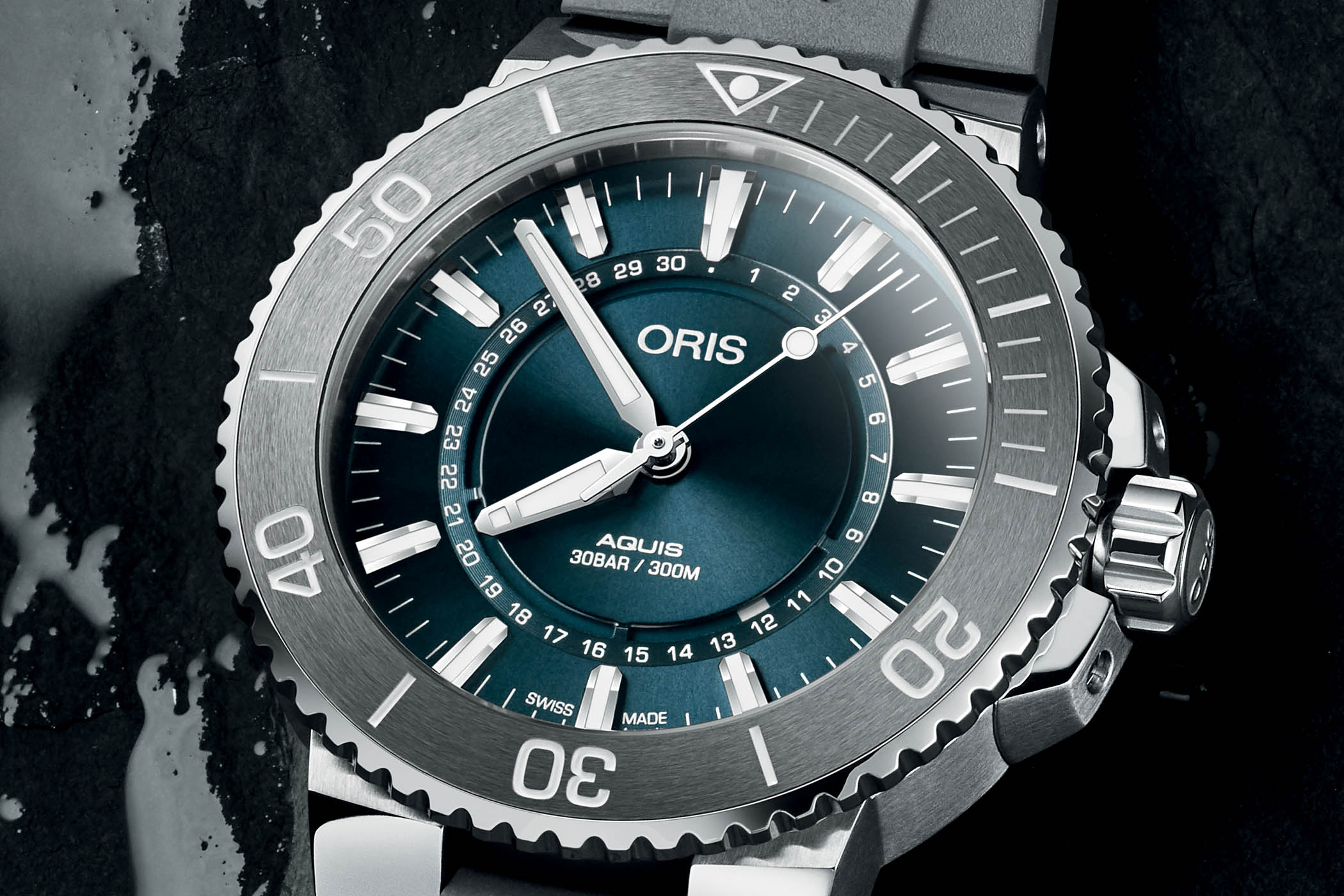 Oris Source of Life Limited Edition Aquis Circular Date