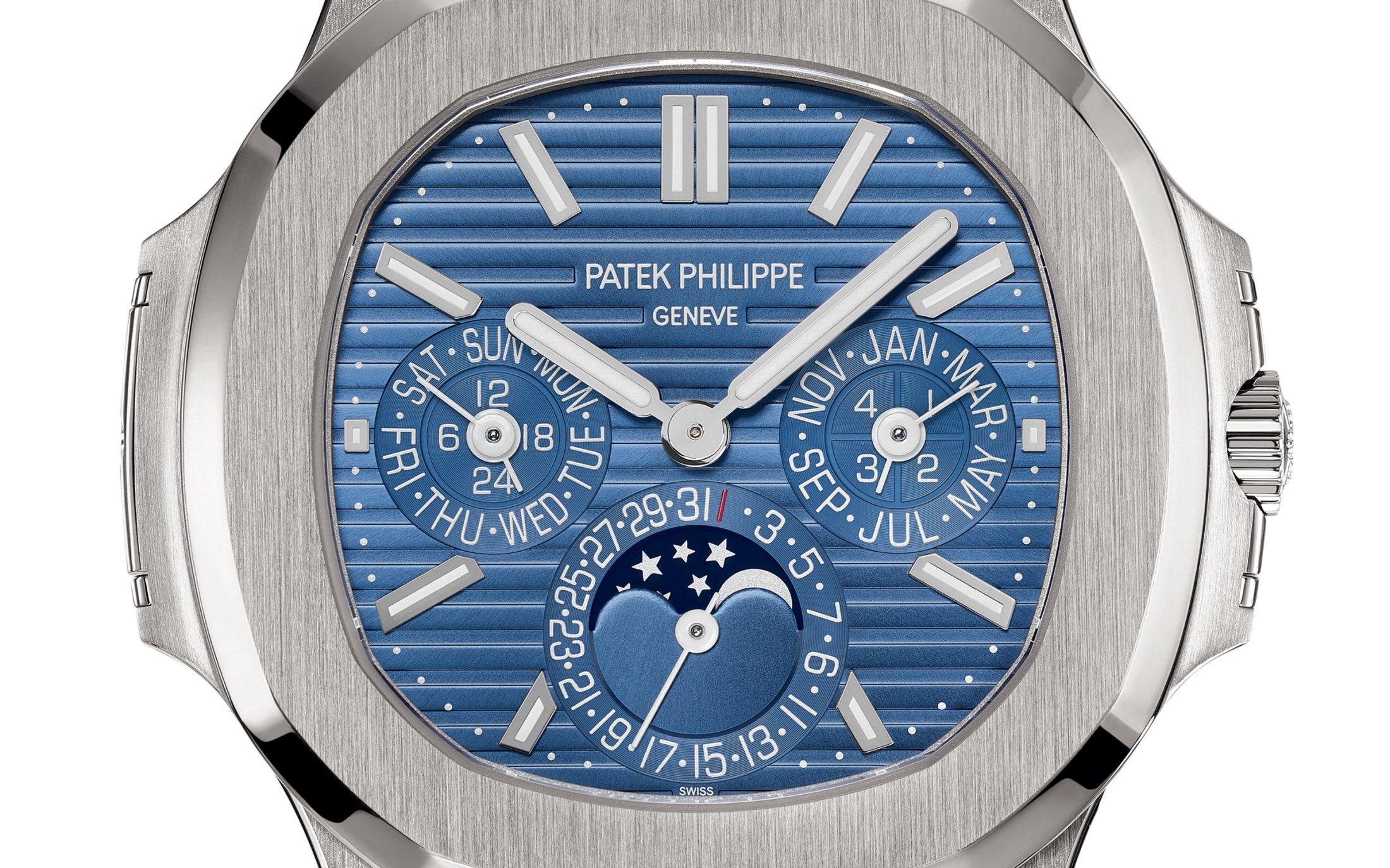 Patek Philippe Nautilus Perpetual Calendar 5740G - Baselworld 2018