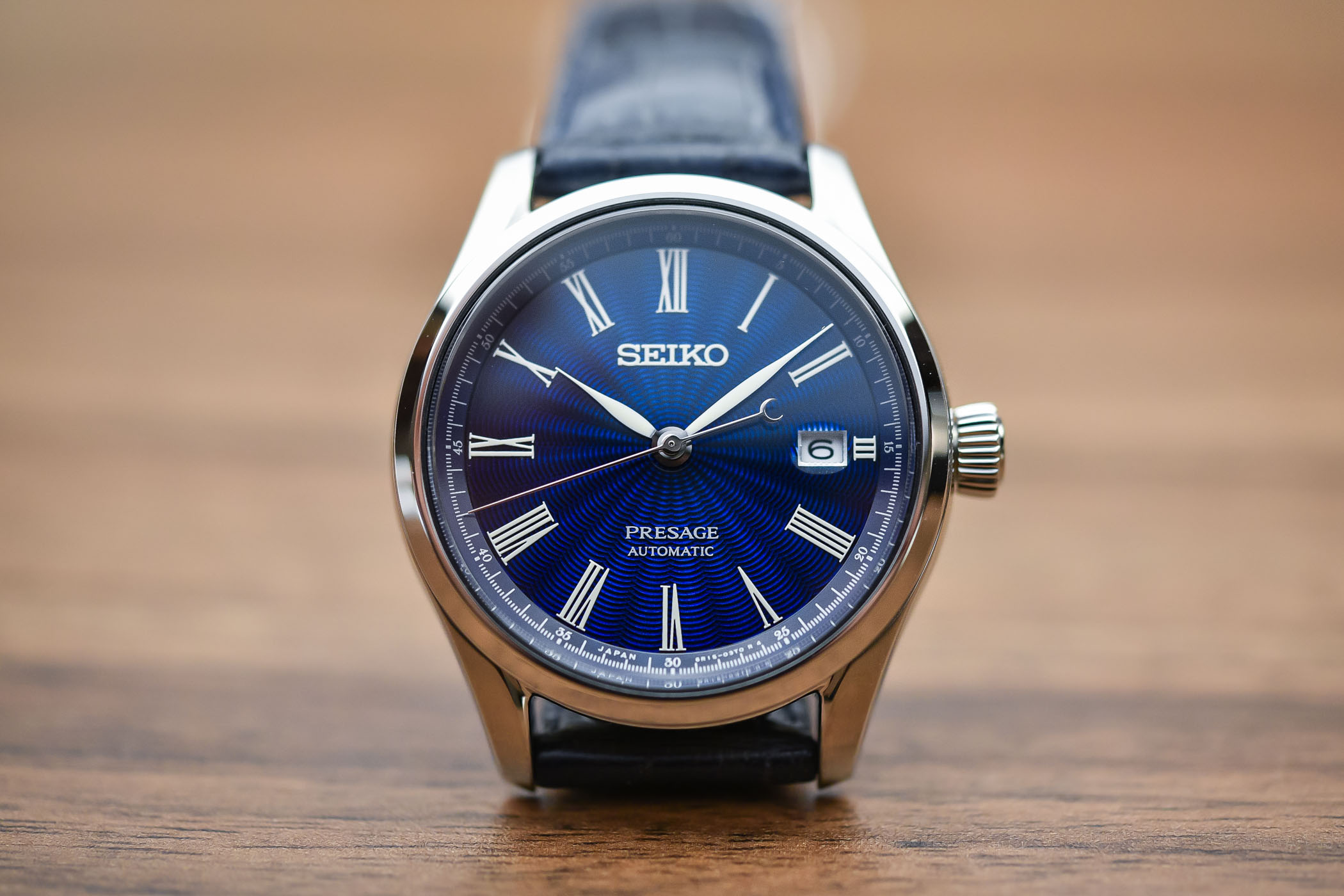 Seiko Presage Shippo Enamel Limited Edition SPB075 - Affordable Watches Baselworld 2018