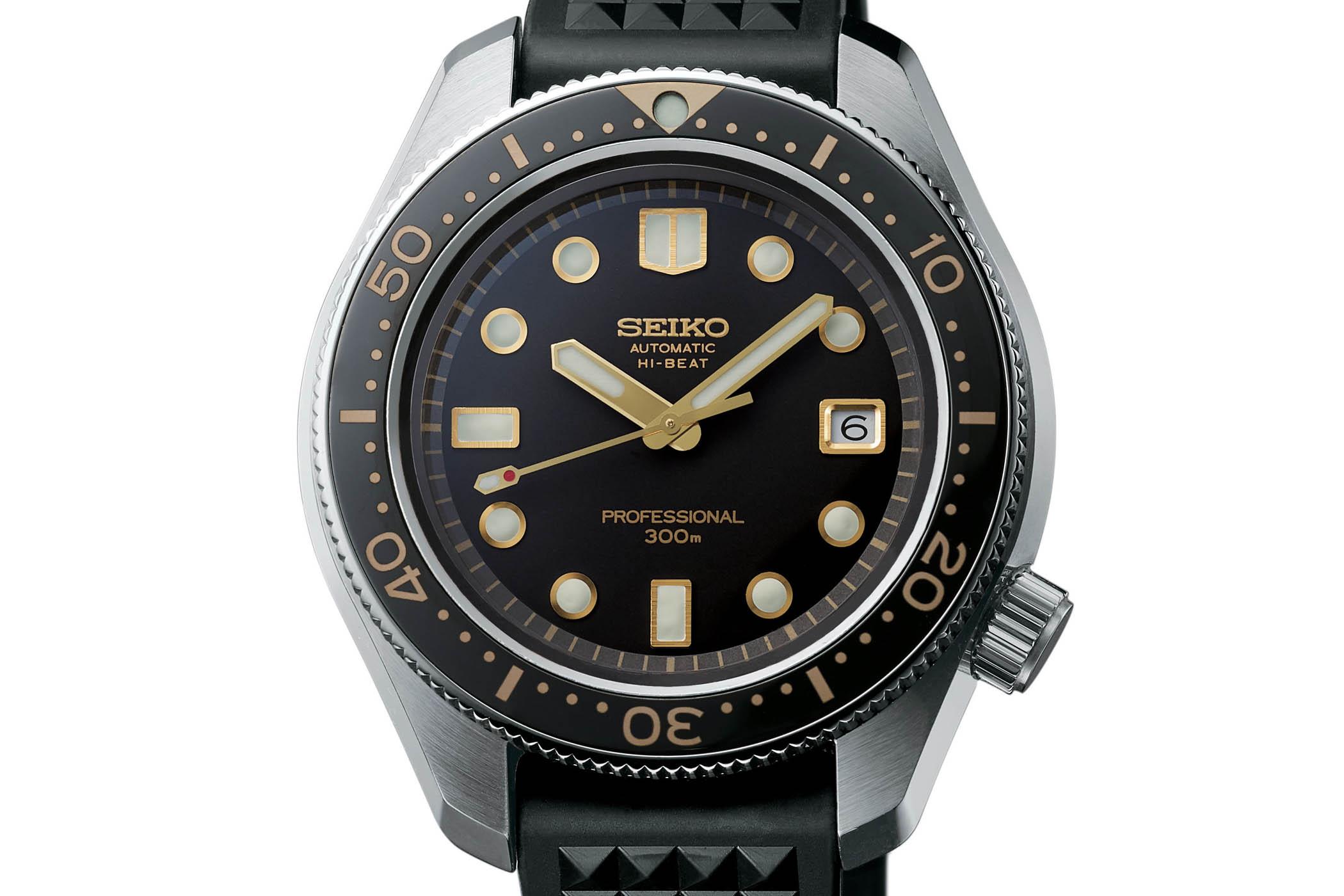 Seiko Prospex Diver 300m Hi-Beat SLA025 - Baselworld 2018