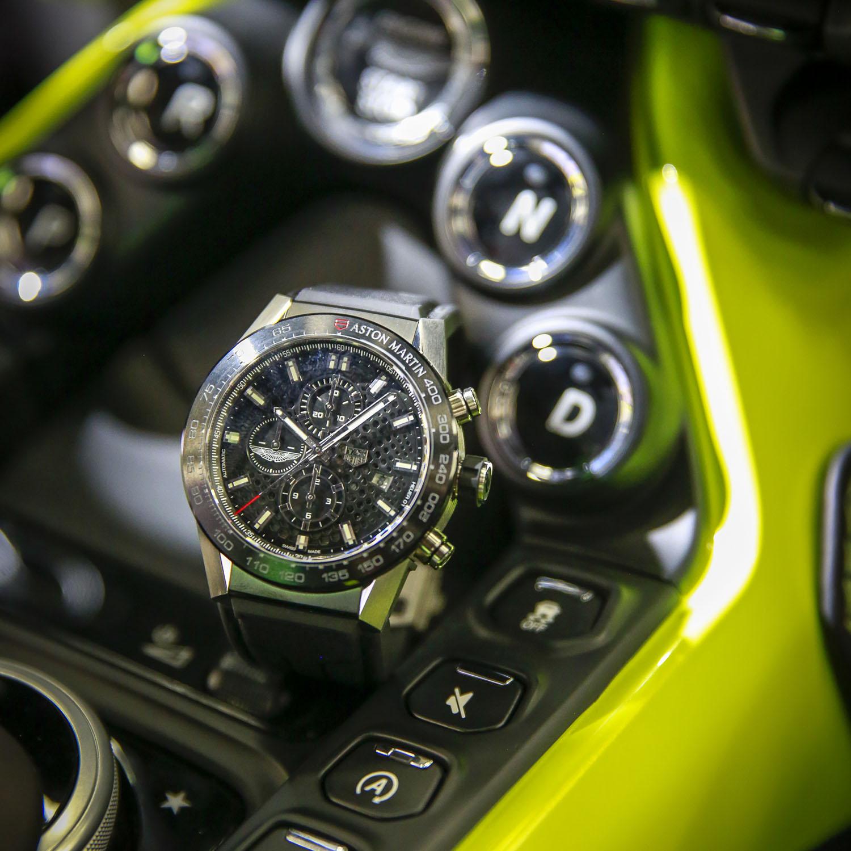 TAG Heuer Carrera Heuer 01 Aston Martin 2018