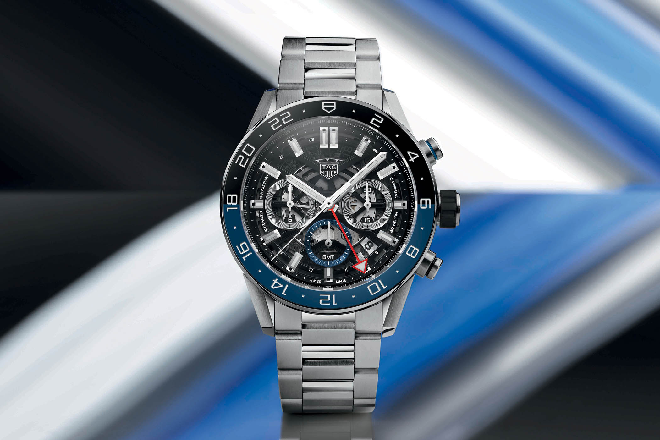 TAG Heuer Carrera Caliber H02 GMT Baselworld 2019