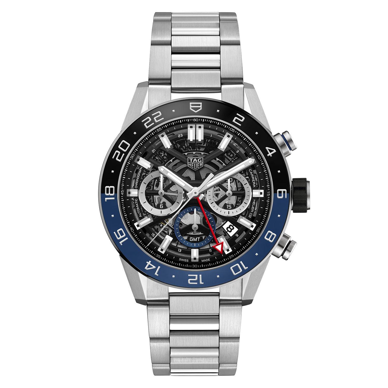 TAG Heuer Carrera Heuer02 GMT chronograph CBG2A1Z - Baselworld 2018