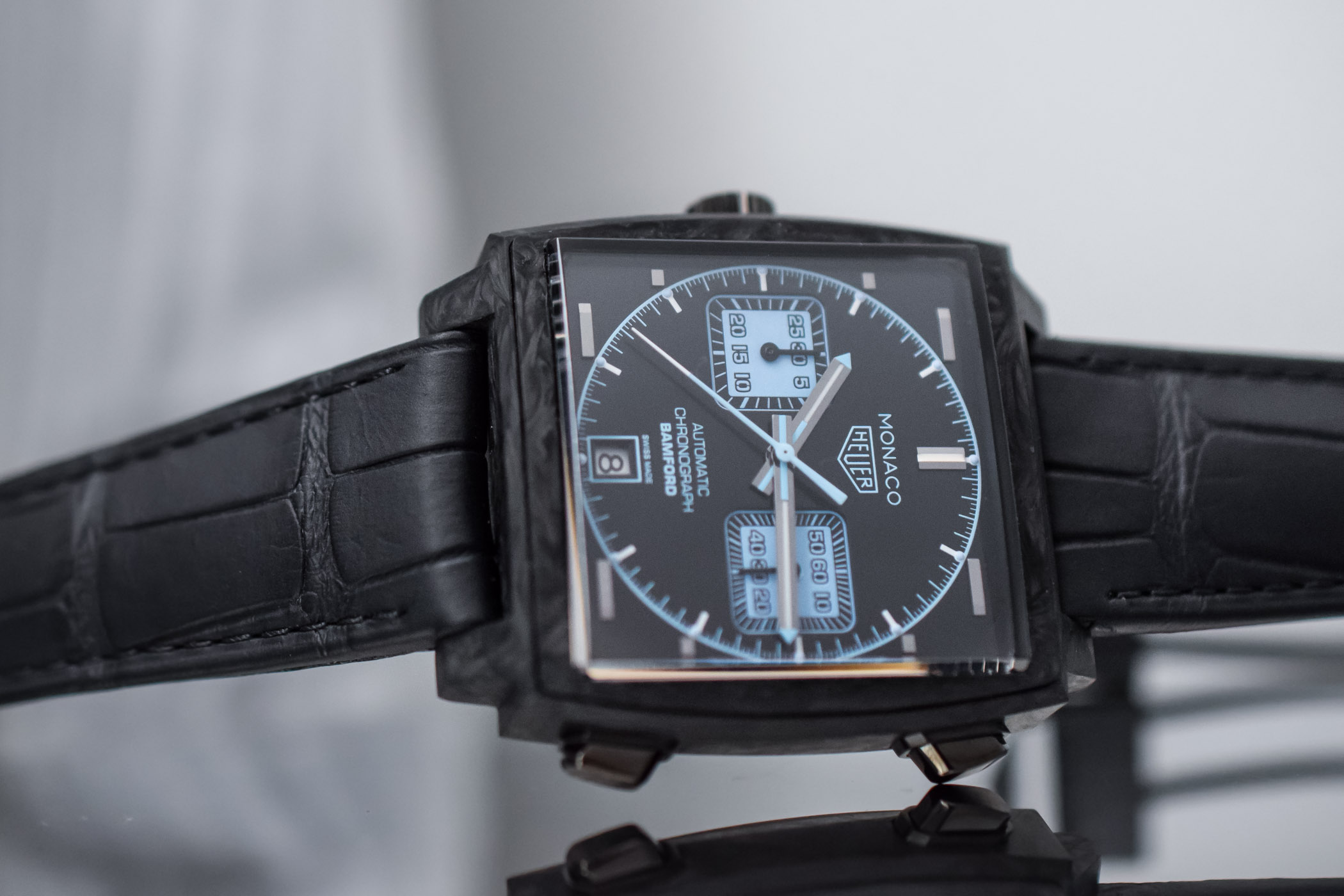 TAG Heuer Monaco Carbon Bamford Watch Department - Baselworld 2018