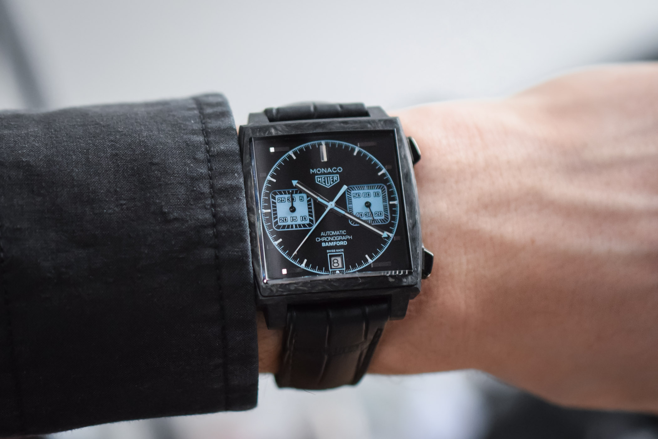 TAG Heuer Monaco Carbon Bamford Watch Department - Baselworld 2018