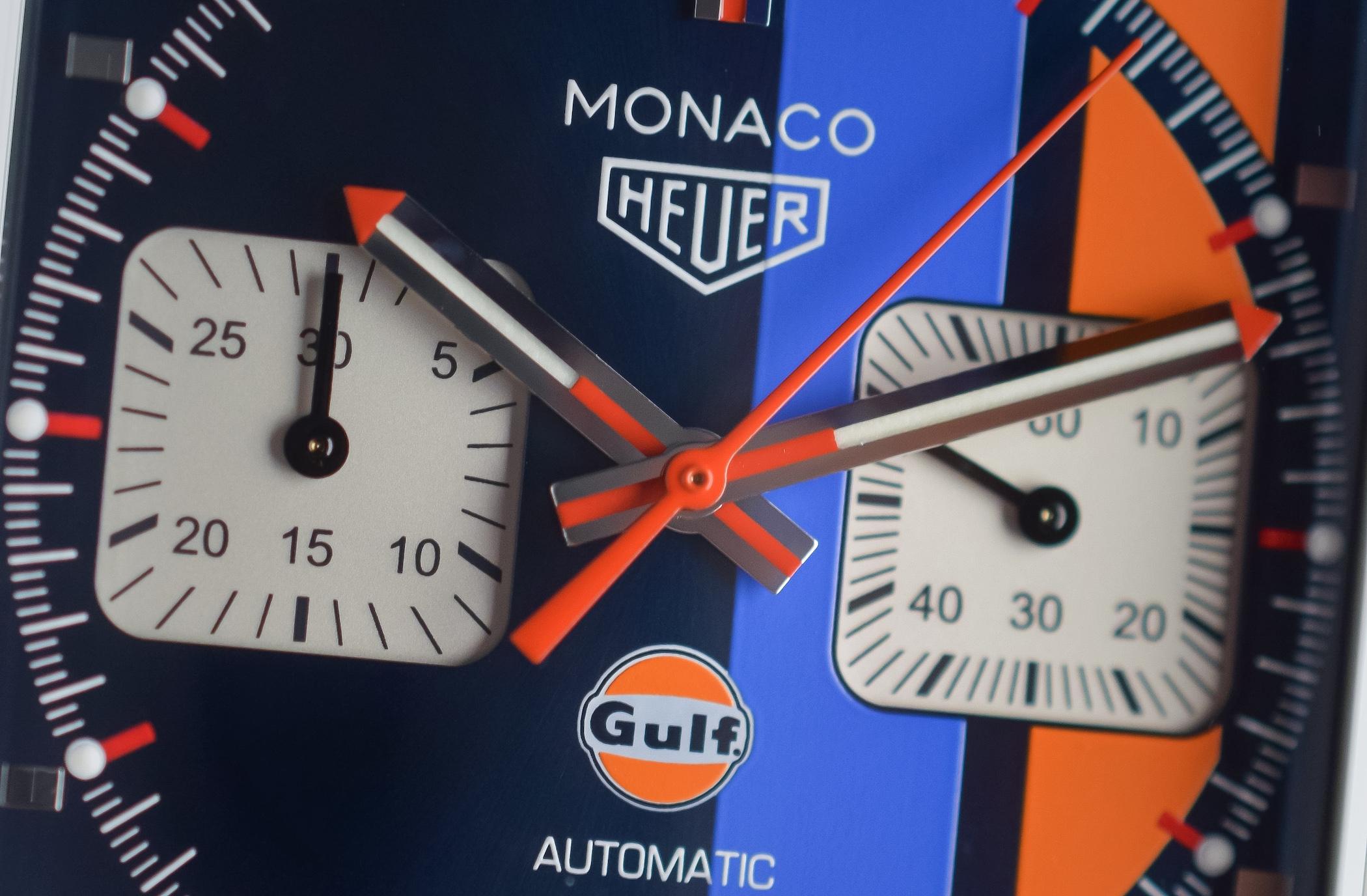 6cec180b1 Hands-On - TAG Heuer Monaco Gulf 2018 Special Edition CAW211R.FC6401 ...