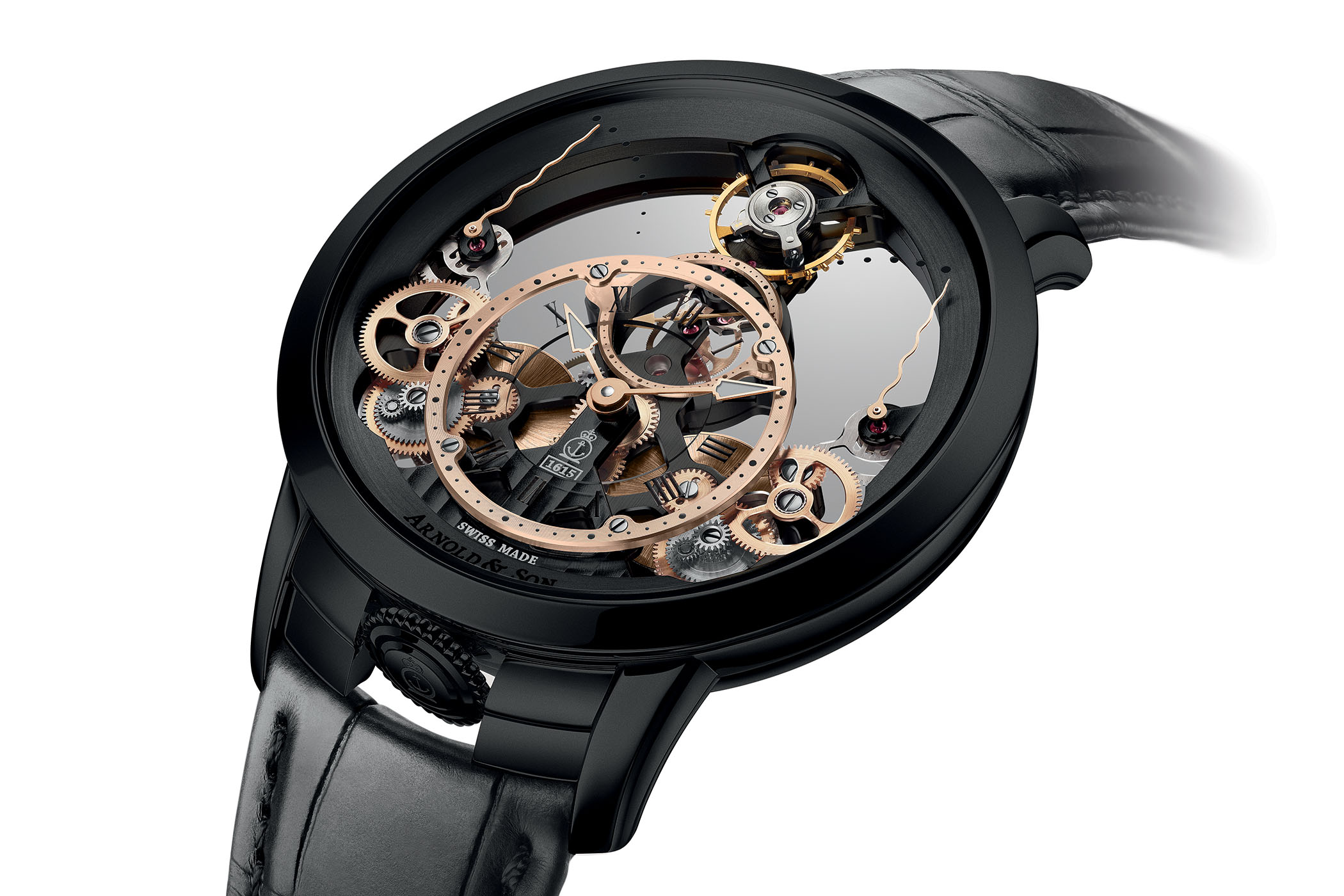 Arnold and Son Time Pyramid Black Edition