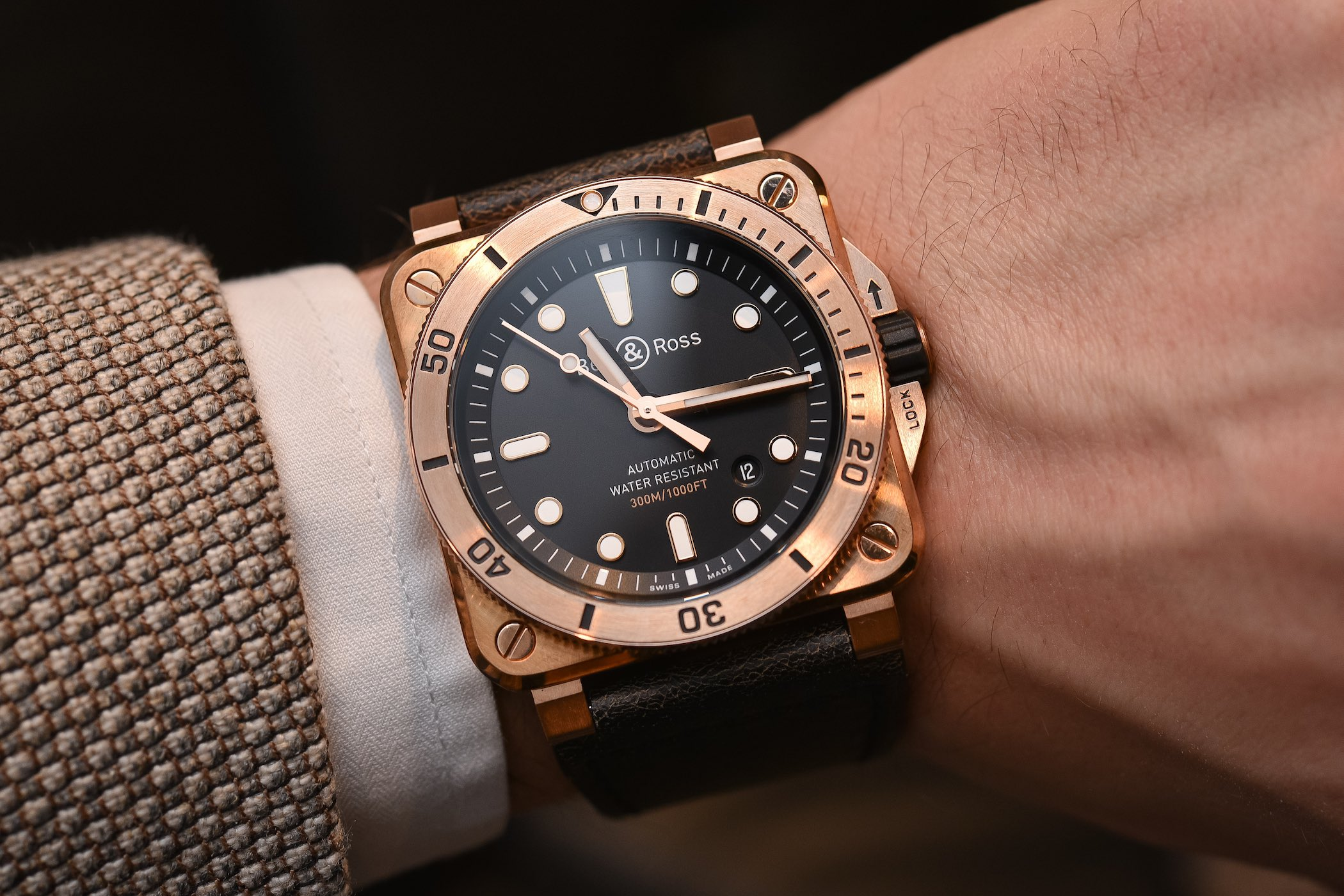 Bell and Ross BR-03-92 Diver Bronze - Baselworld 2018
