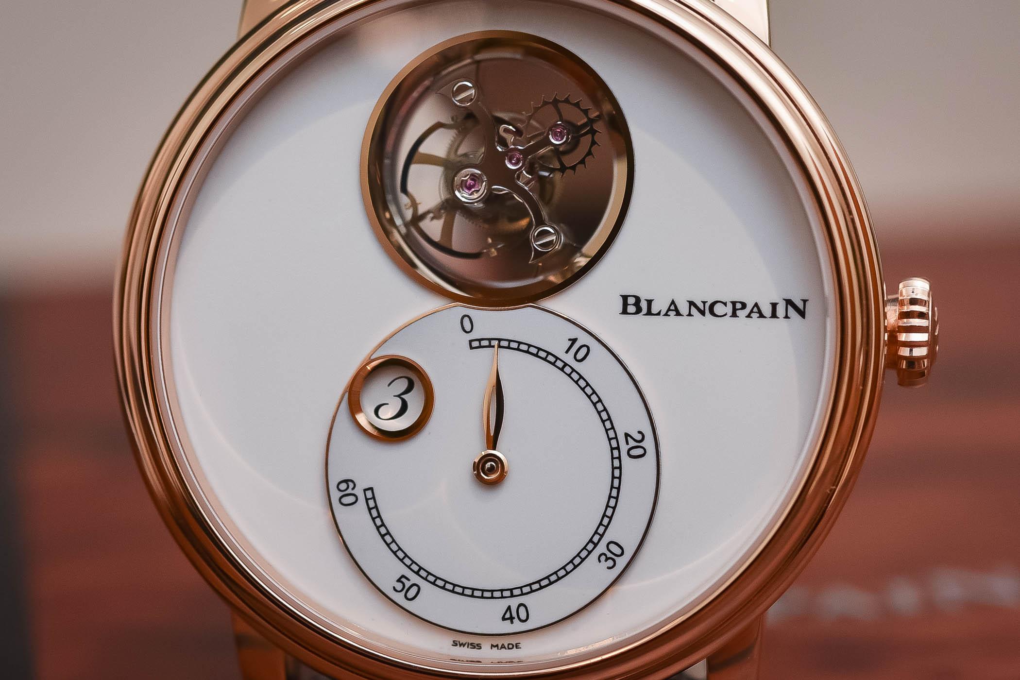 Blancpain Villeret Tourbillon Volant Heure Sautante Minute Retrograde - Baselworld 2018