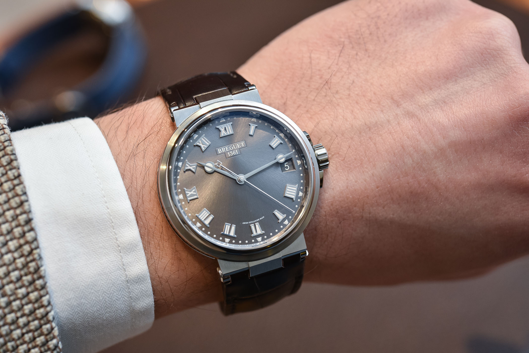 Breguet Marine 5517 Time-and-Date Baselworld 2018