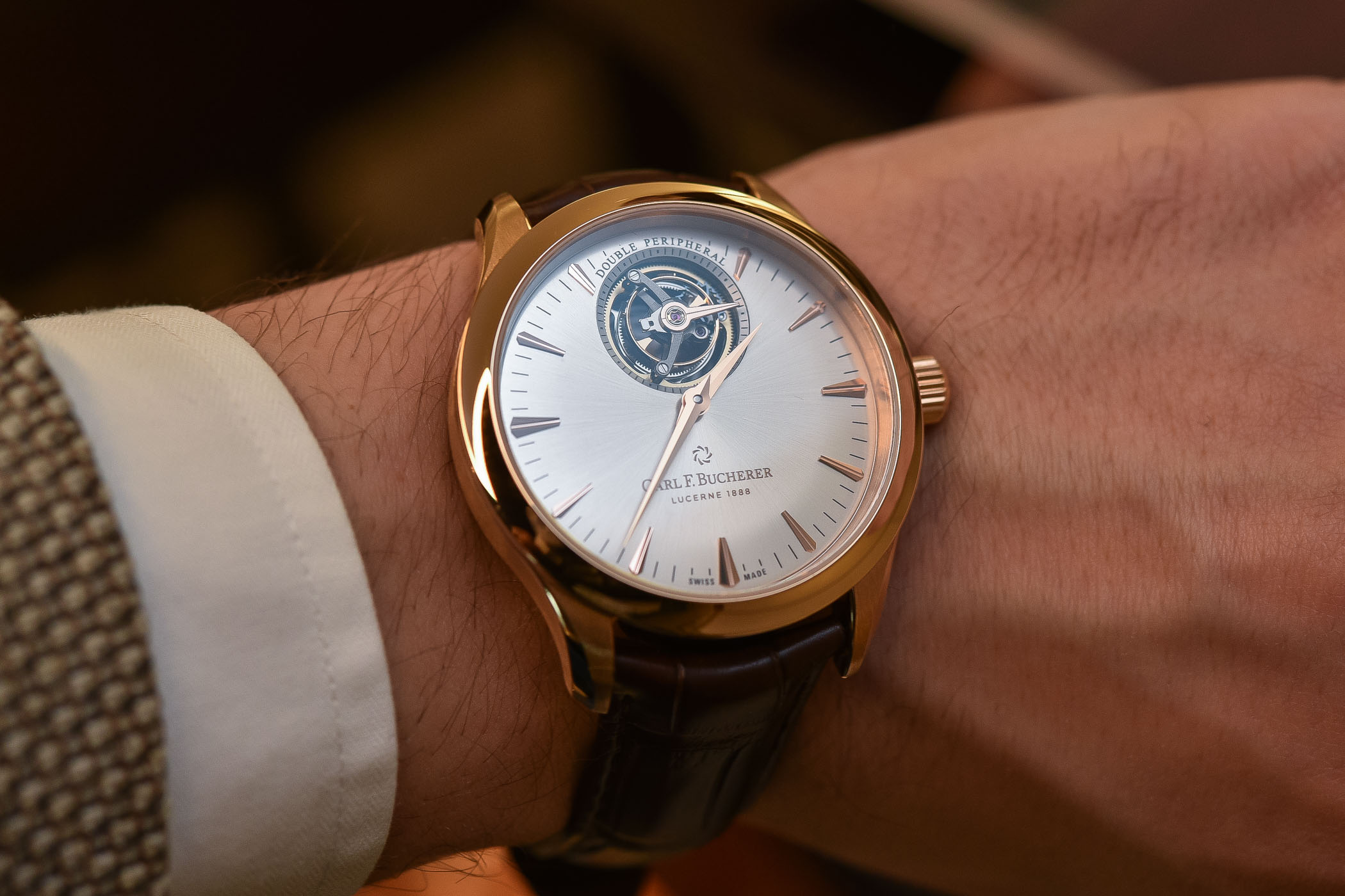 Carl F. Bucherer Manero Tourbillon Double Peripheral - baselworld 2018 - review