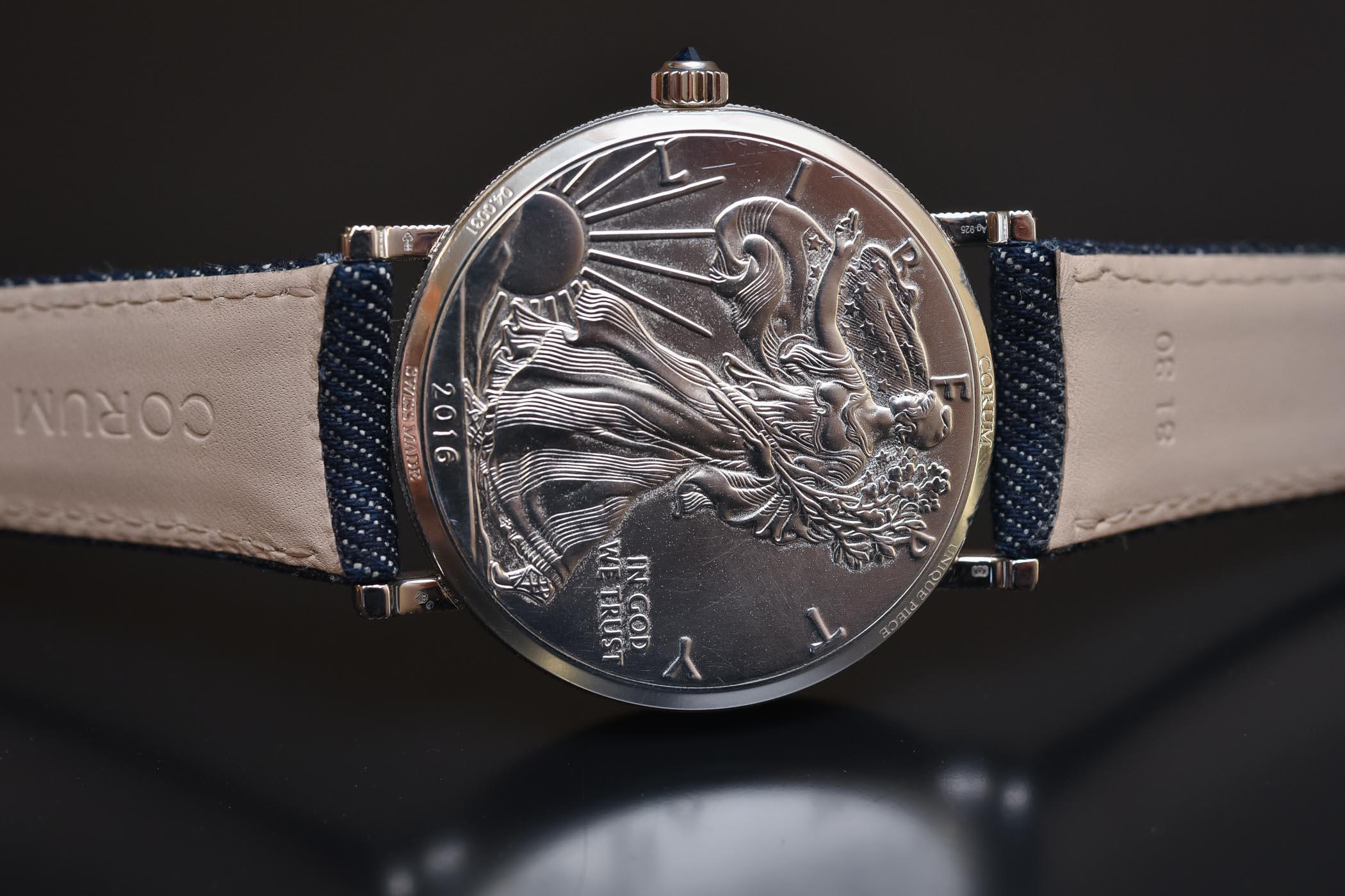 Corum Heritage Artisans Coin-Watch Hobo