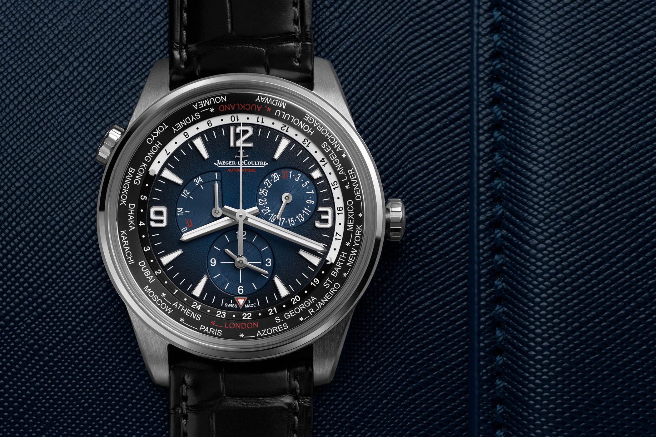 Jaeger-LeCoultre Polaris Geographic WT Limited Edition