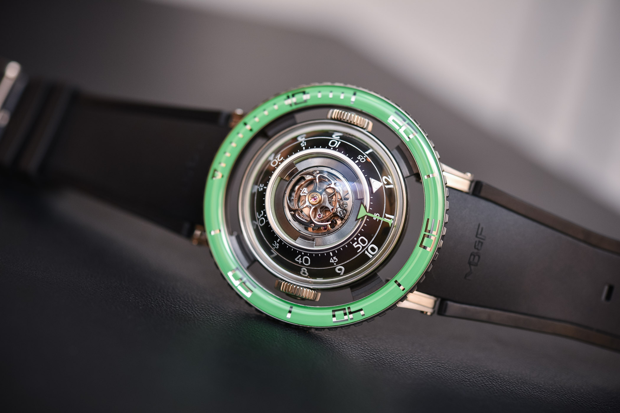 MBandF HM7 Aquapod Ti Green