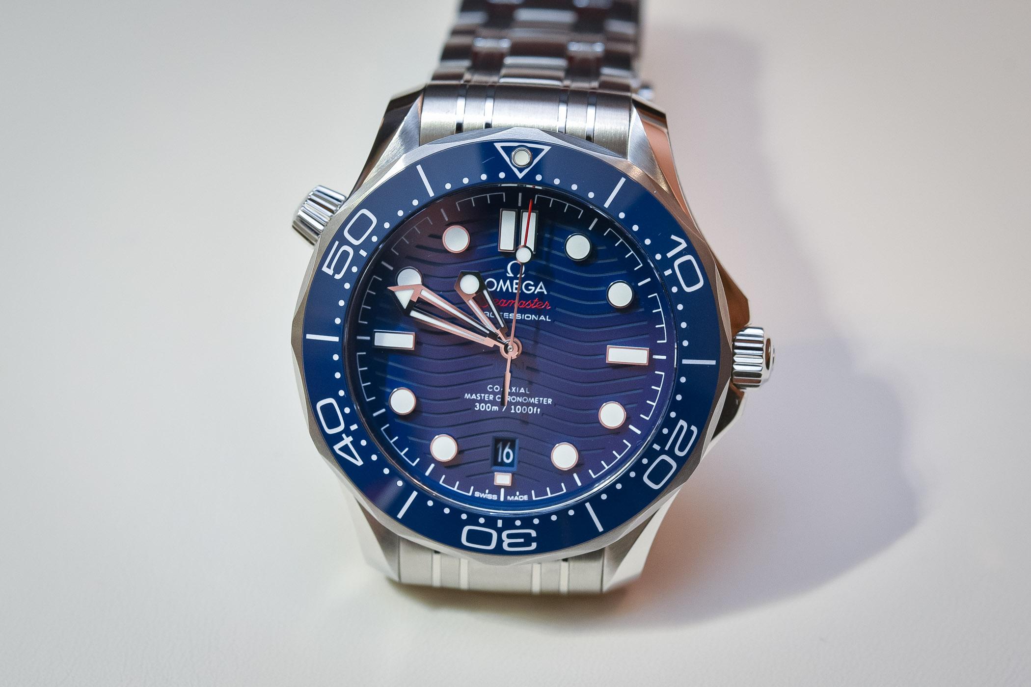 Omega Seamaster Diver 300M SMP - Baselworld 2018