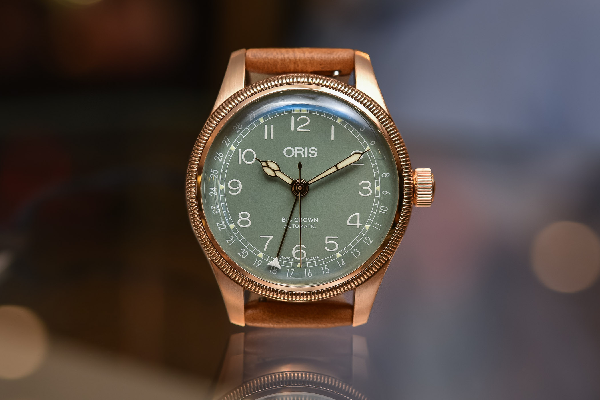 8829383b42b Hands-On Review - Oris Oris Big Crown Pointer Date 36mm Bronze ...
