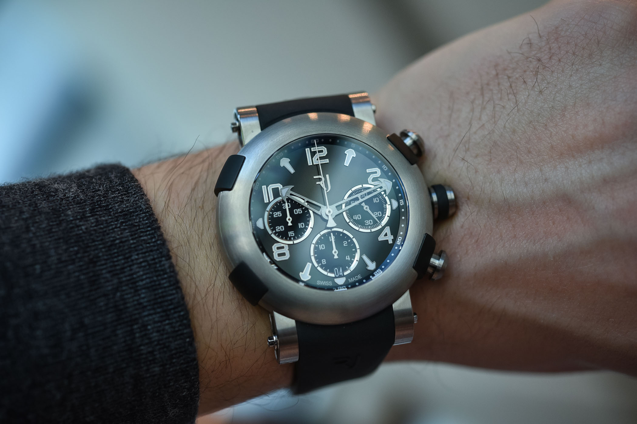 RJ Arraw Chronograph 45mm - Baselworld 2018