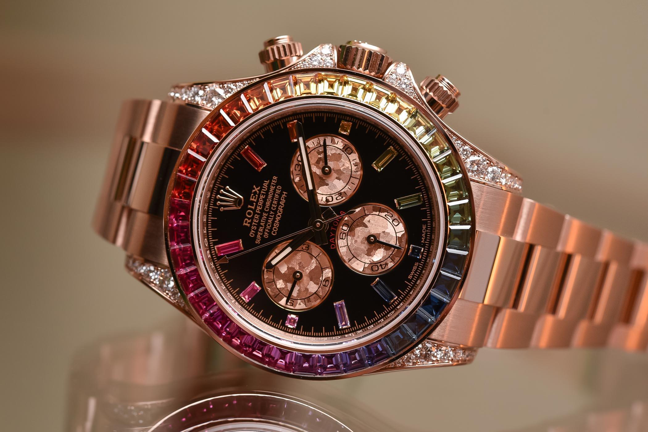 Rolex Daytona116595RBOW Rainbow