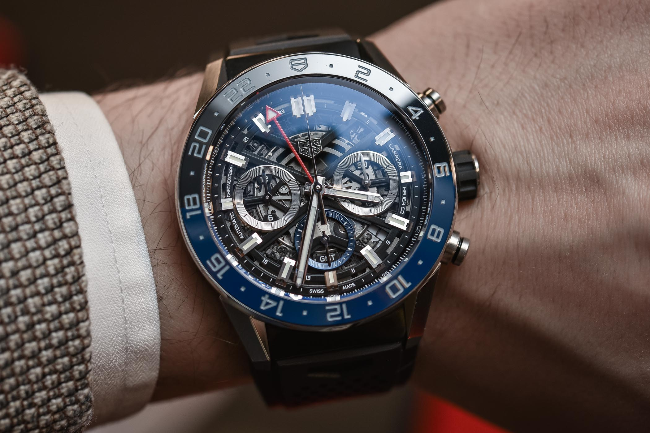 TAG Heuer Carrera Heuer 02 GMT Chronograph review