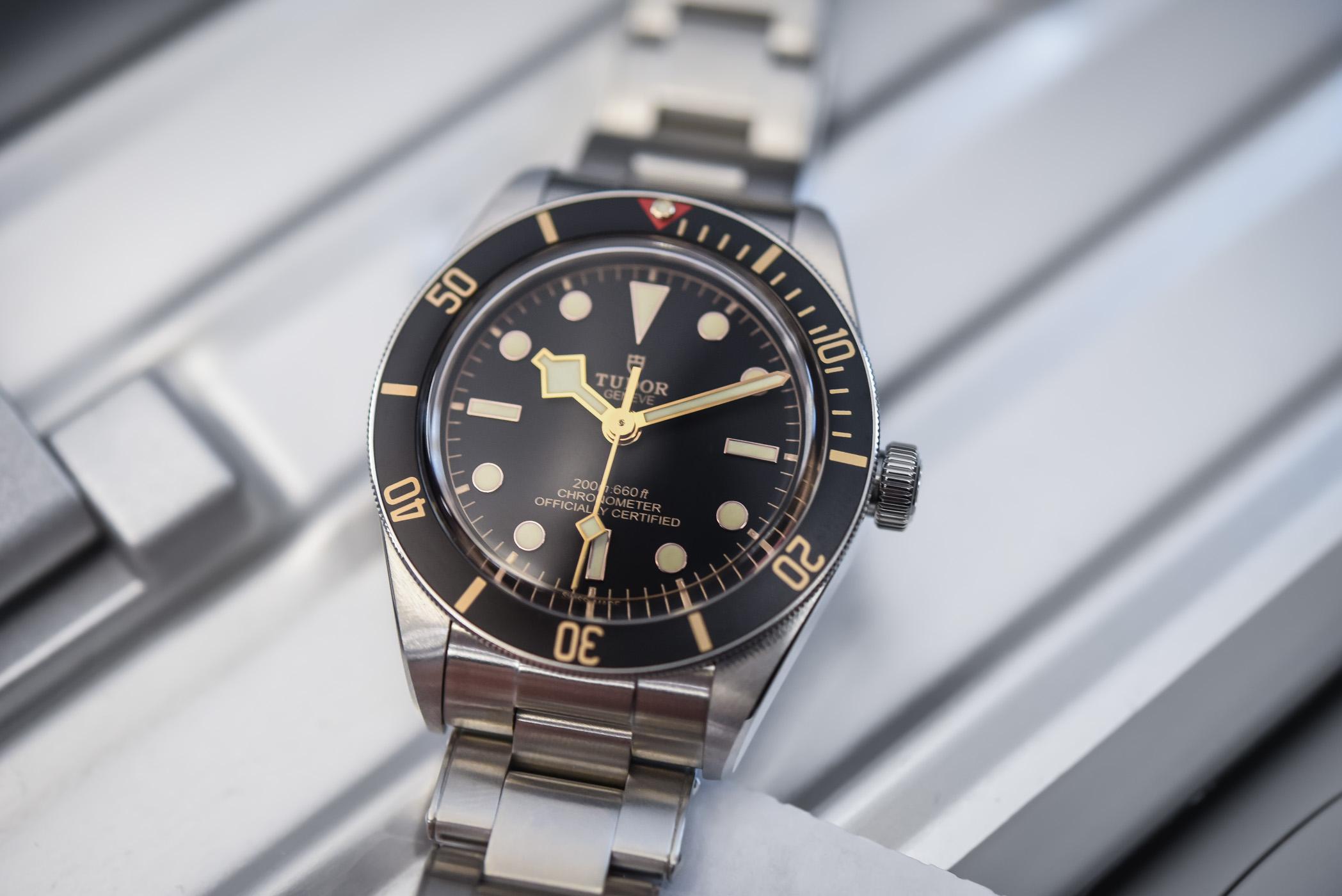 f61cd222ce1 Hands-On - Tudor Black Bay Fifty-Eight 39mm 79030N - Baselworld 2018 ...