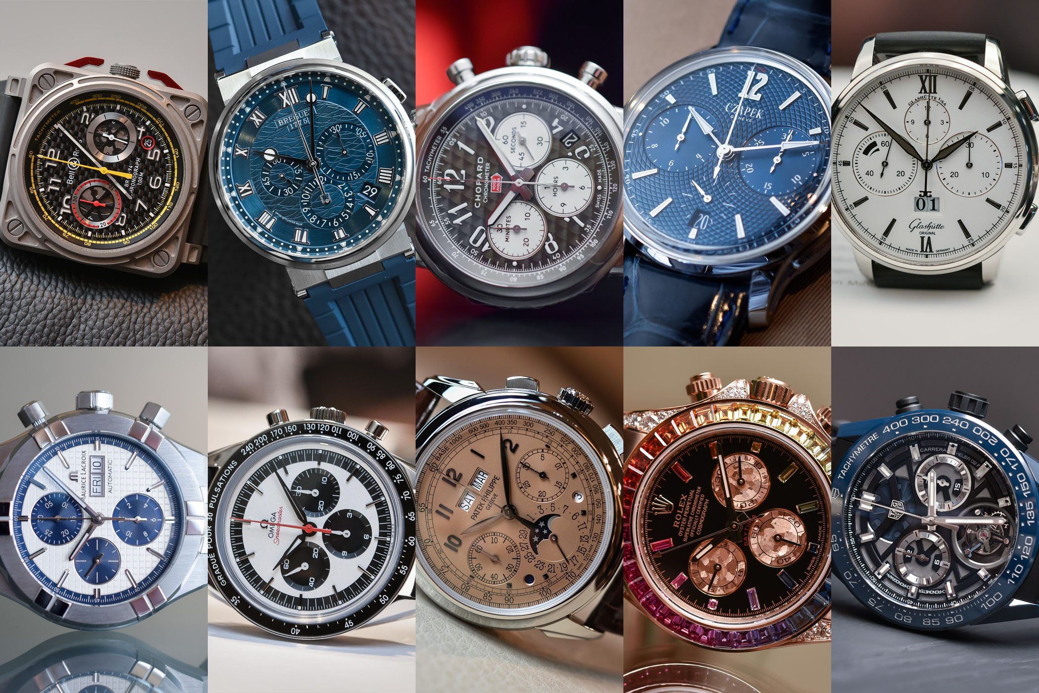 best chronograph watches baselworld 2018