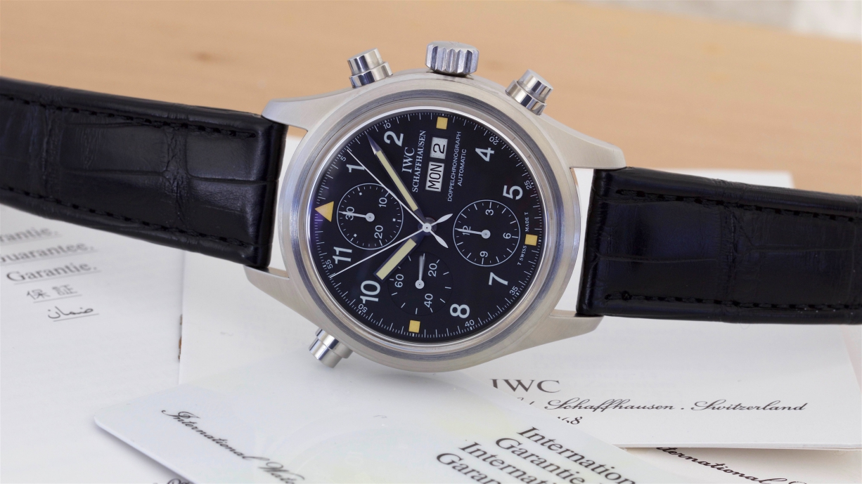 IWC 3711 Doppelchronograph