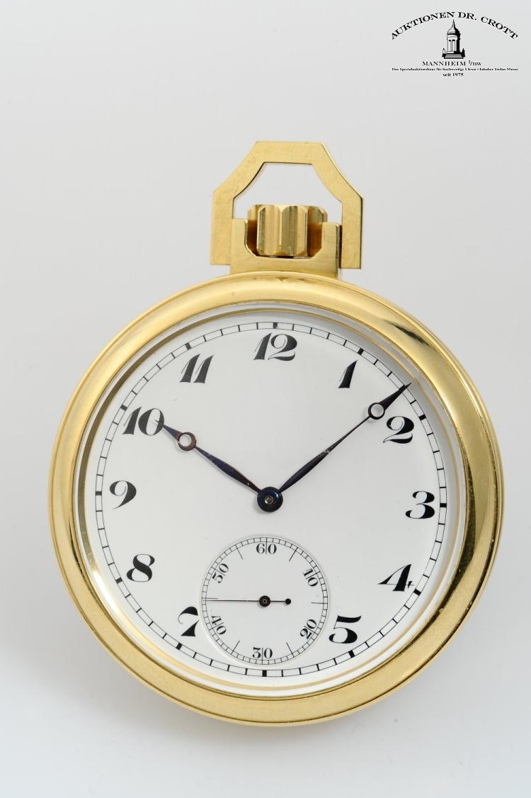 James c Pellaton tourbillon pocket watch