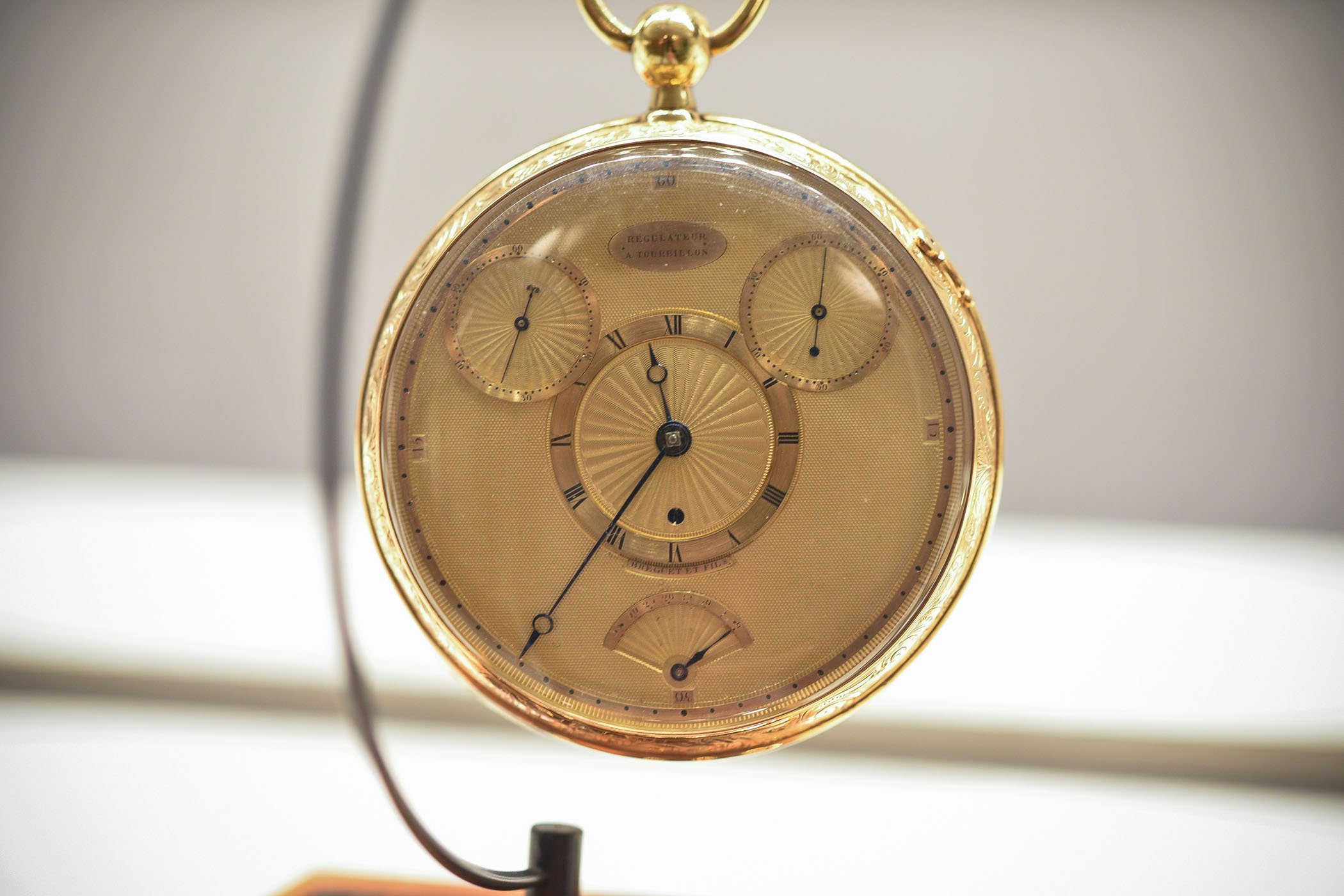 Breguet Tourbillon pocket watch No 1176