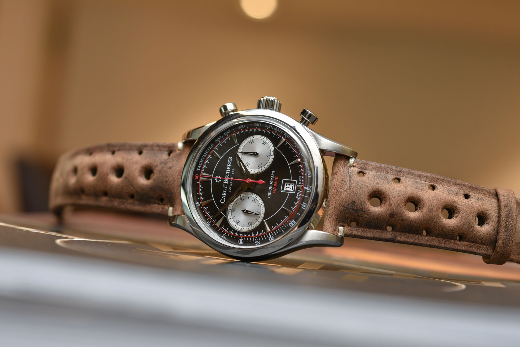 Carl F. Bucherer Manero Flyback Retro Style Baselworld 2018