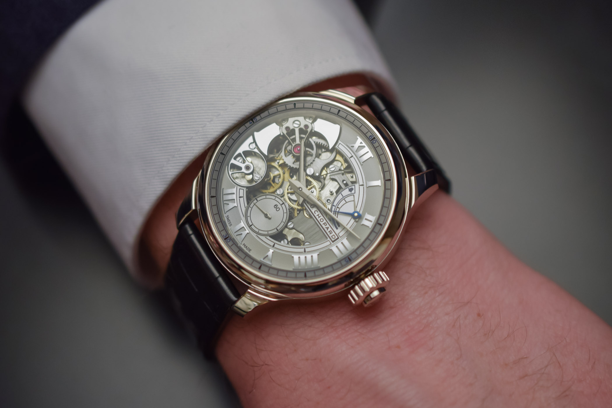 Chopard LUC Full Strike White Gold