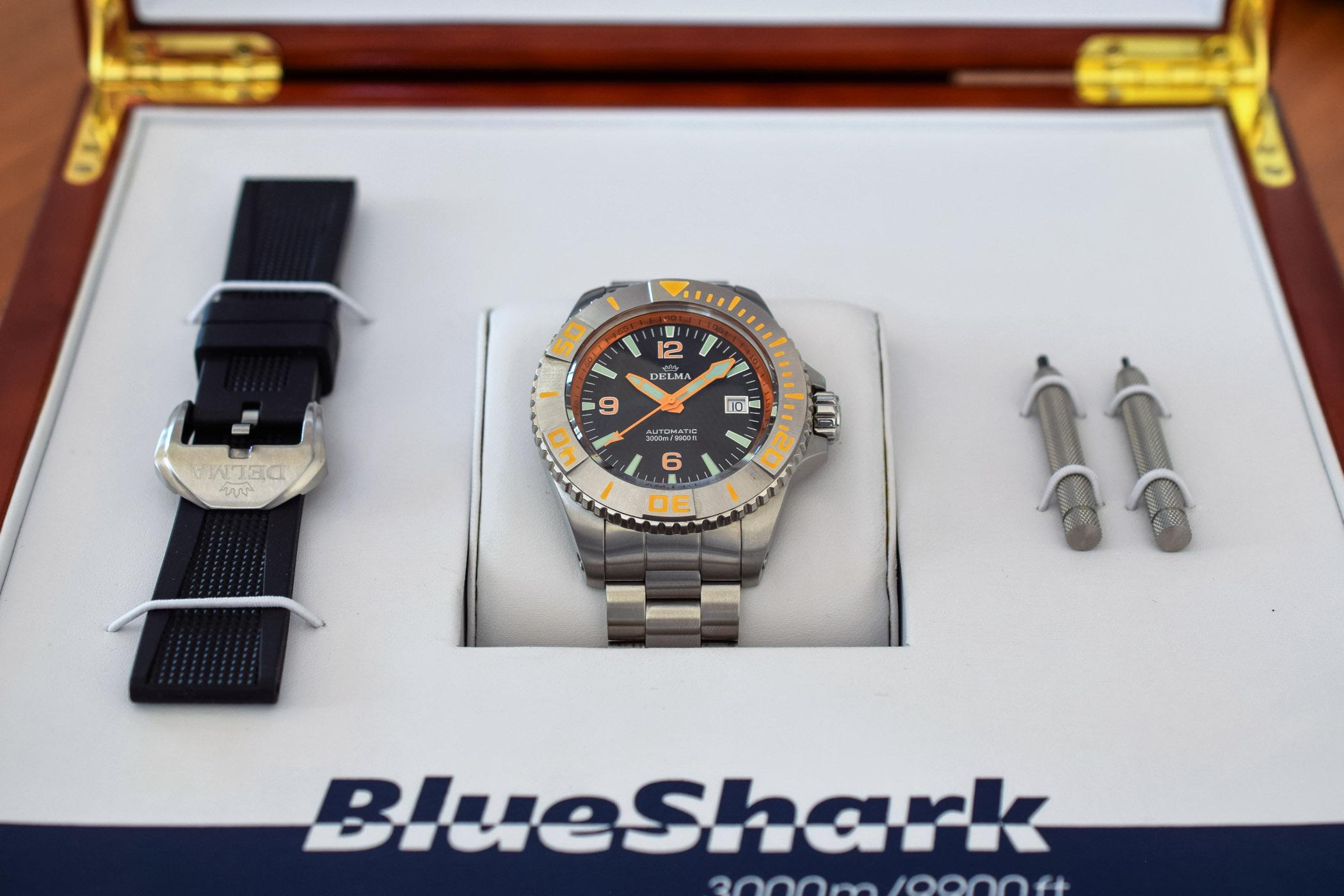 Delma Blue Shark II 3000m Dive Watch