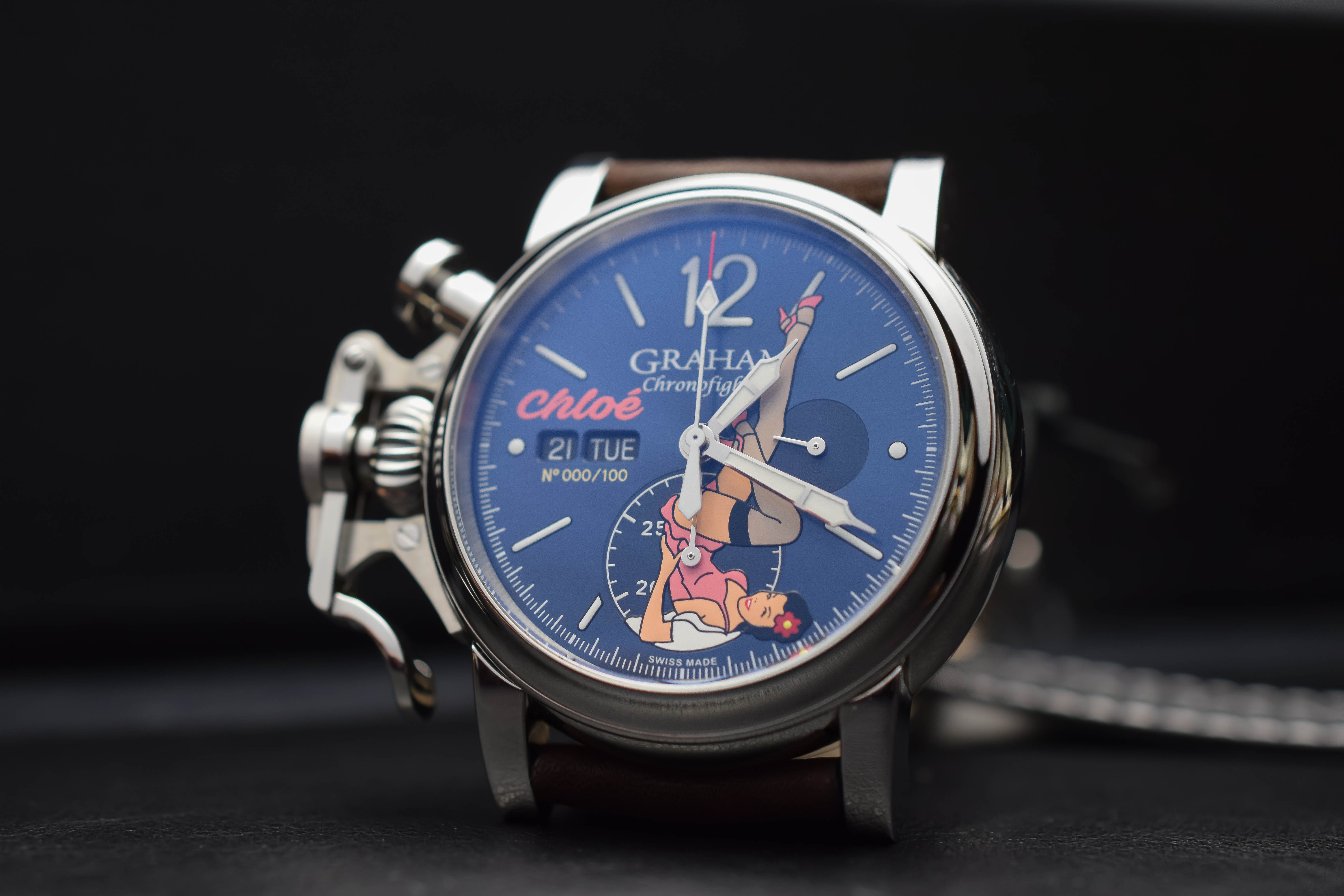 Graham Chronofighter Nose Art Limited Editions 2018