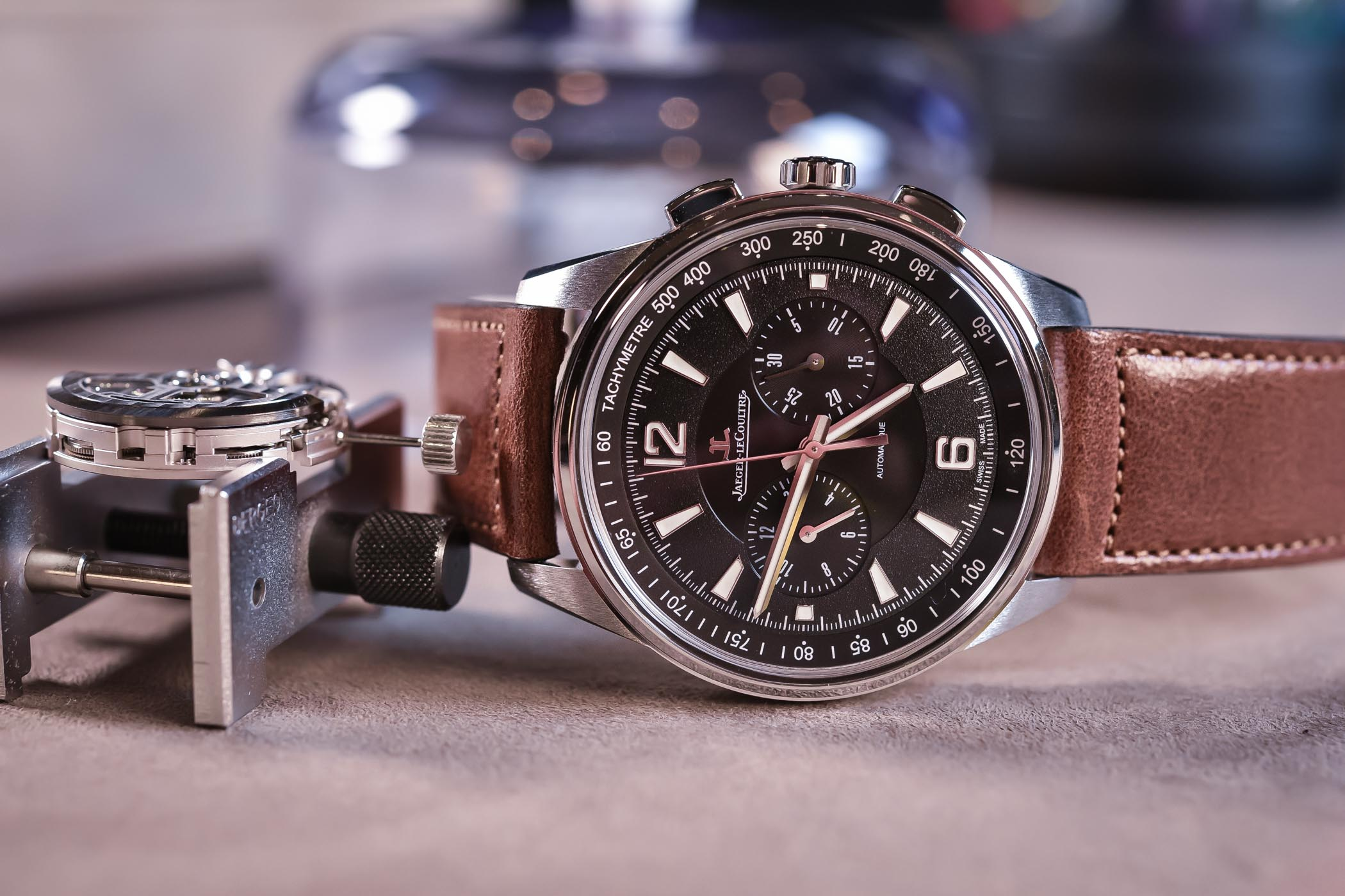 Jaeger-LeCoultre Polaris Chronograph Black dial 9028471