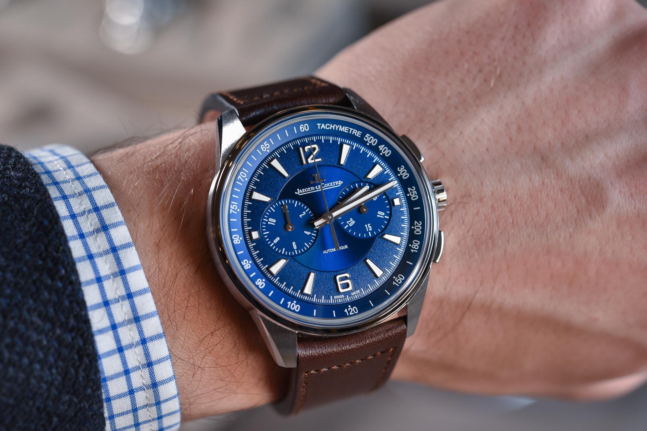 Jaeger-LeCoultre Polaris Chronograph Blue dial 9028480
