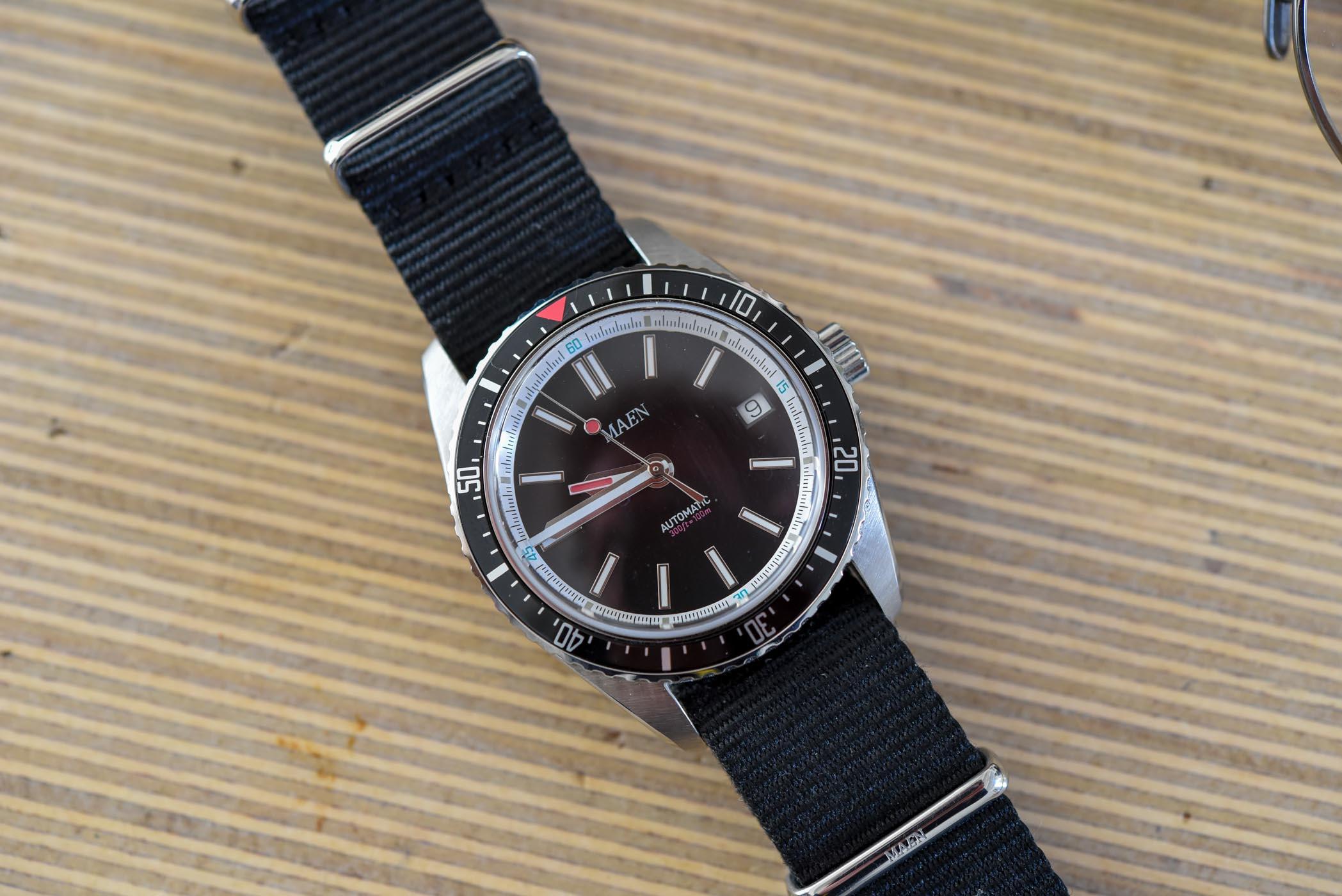 Maen Hudson 38 Automatic - kickstarter