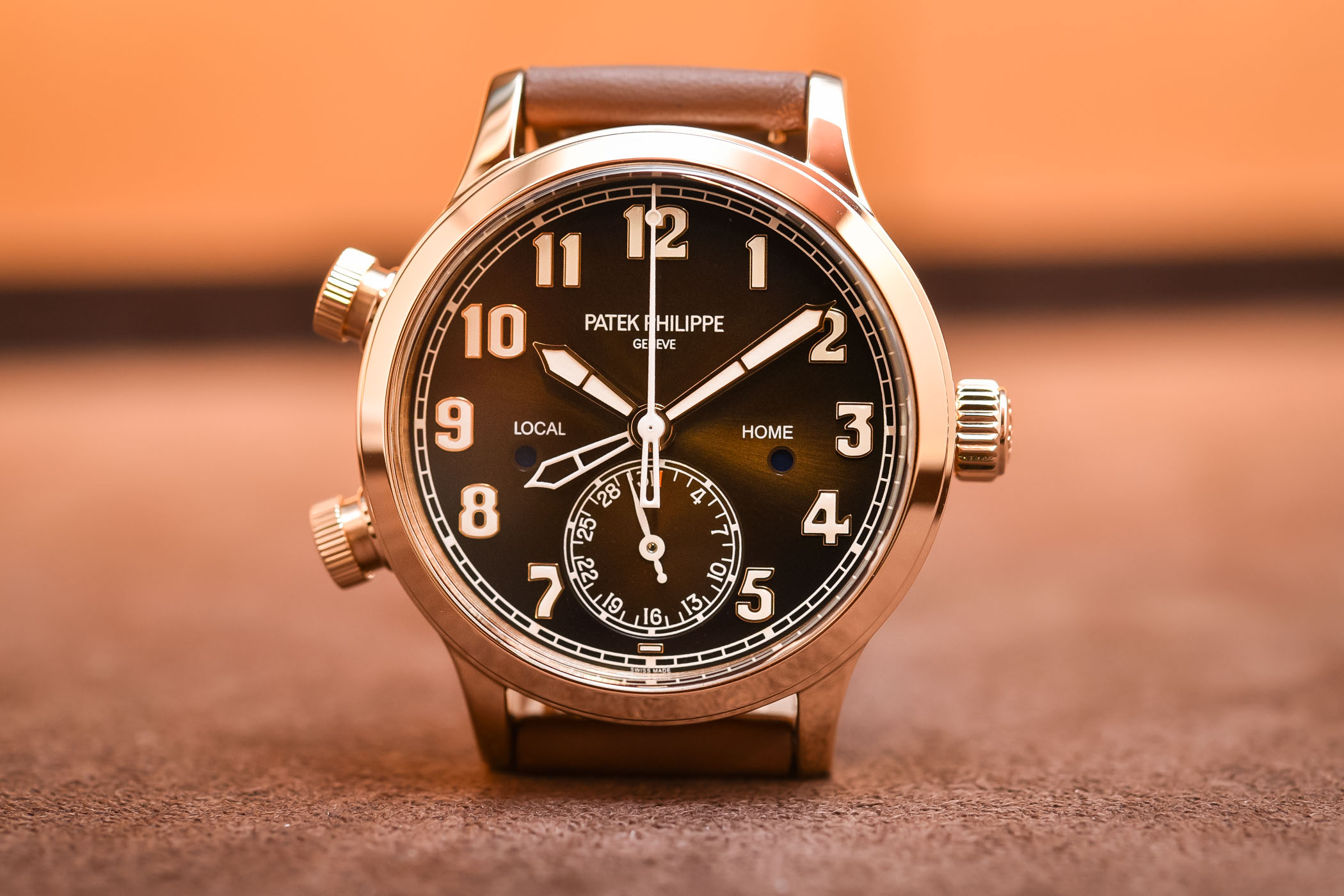 Patek Philippe Calatrava Pilot Travel Time 7234R lady