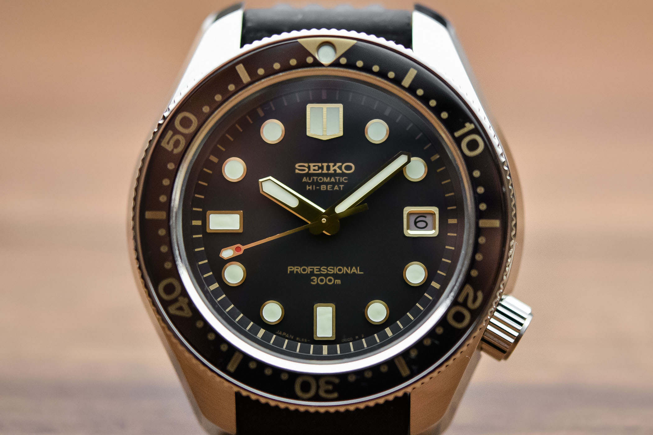 Seiko Prospex Diver 300m Hi-Beat SLA025 – Recreation 1968 Ref. 6159-7001