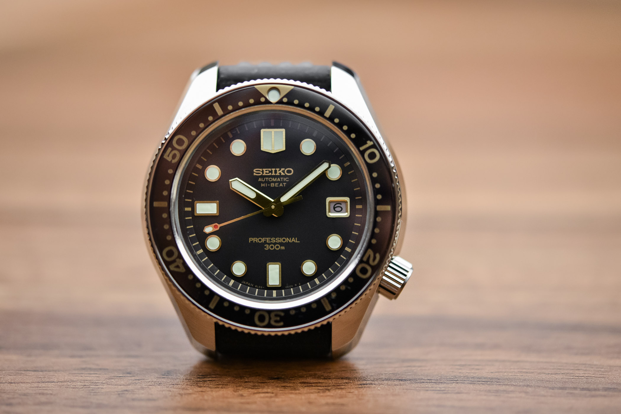 2da543ce71b Seiko Prospex Diver 300m Hi-Beat SLA025 – Recreation 1968 Ref. 6159-7001