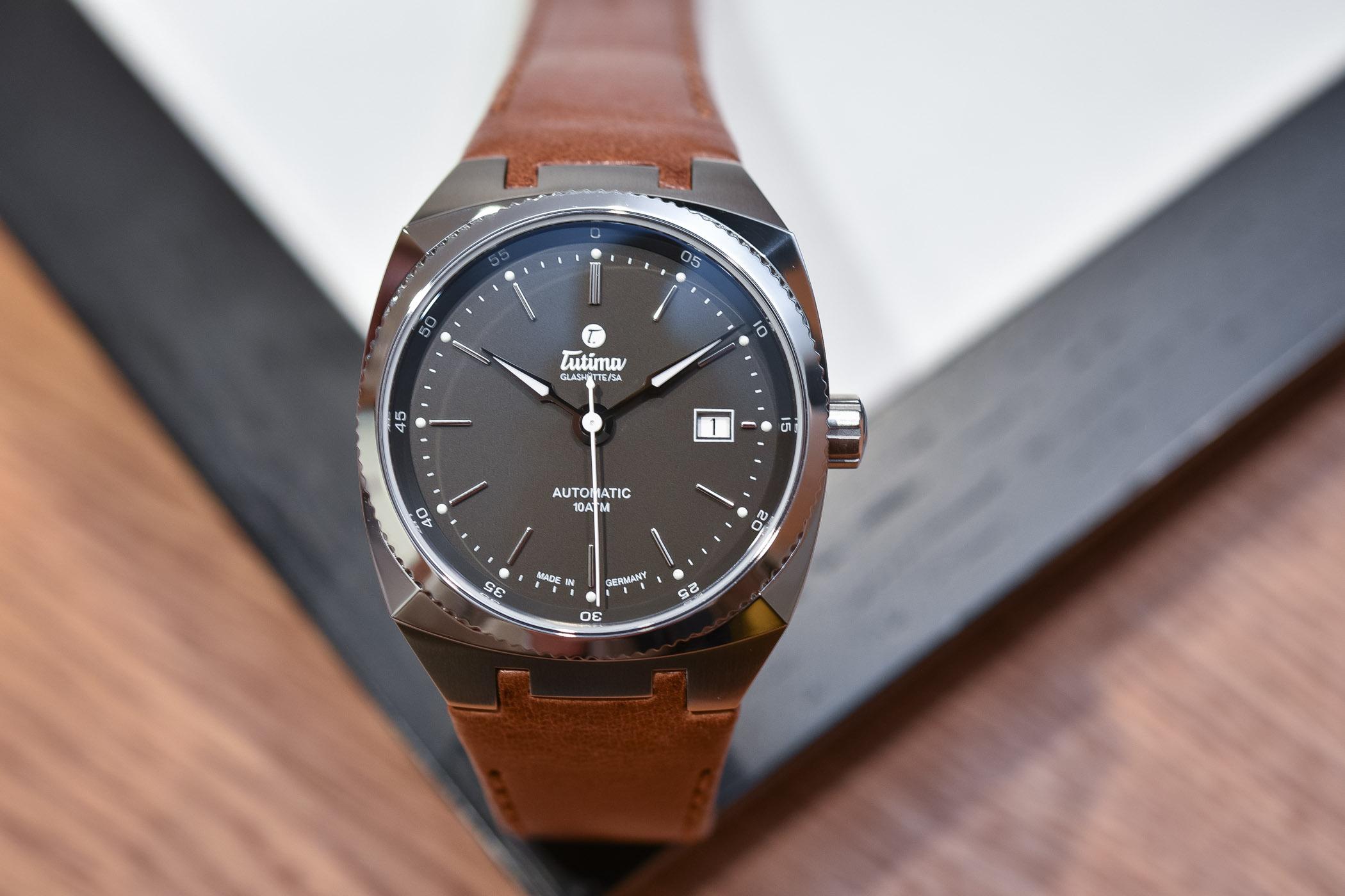 Tutima Saxon One M 40mm Midnight Grey