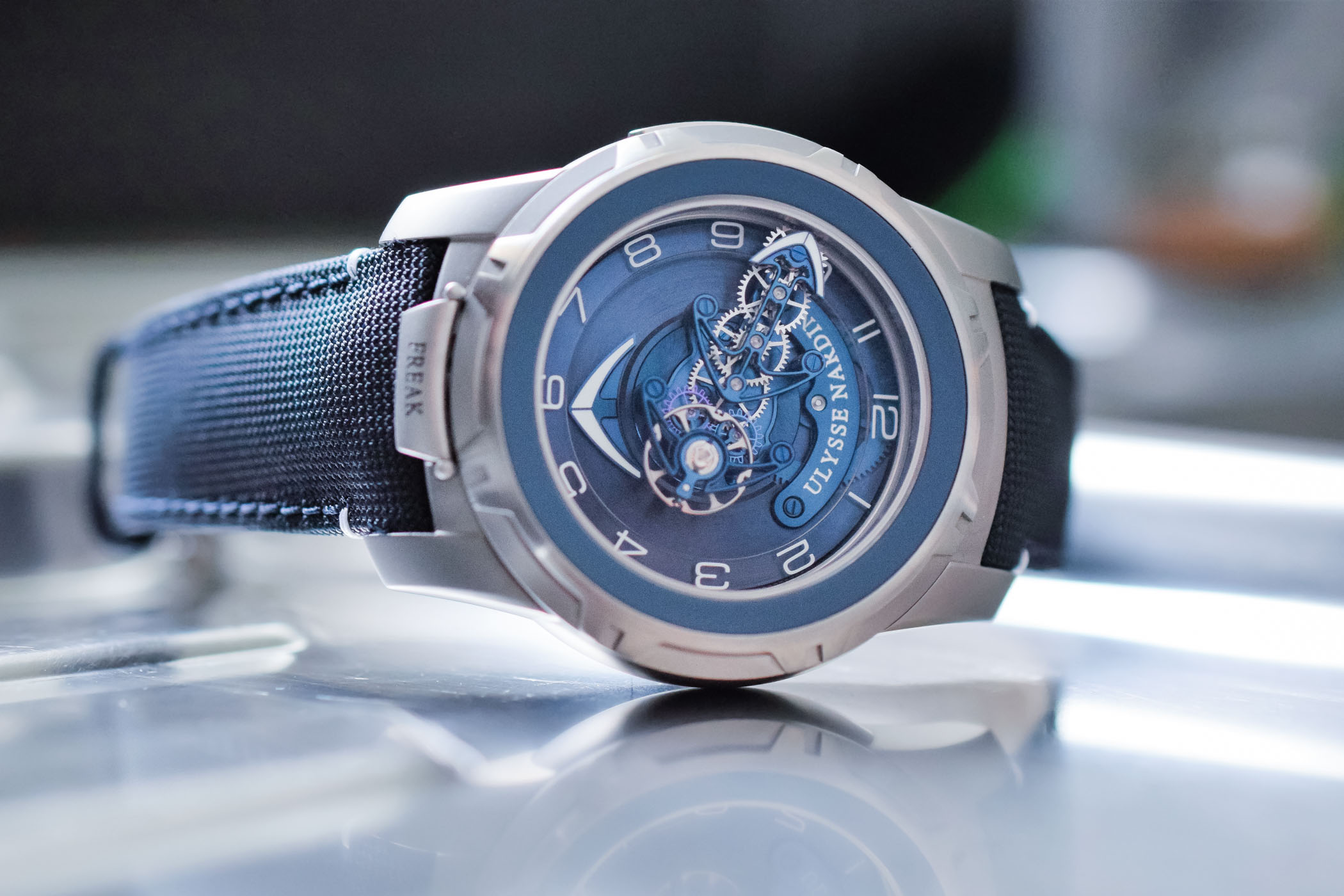 Ulysse Nardin Freak Out Titanium