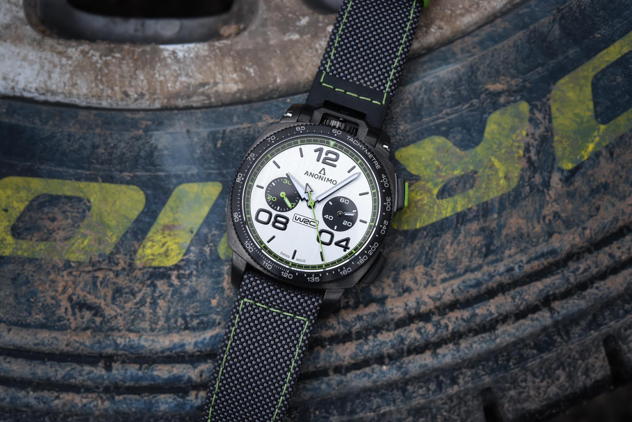 Anonimo Militare Chronograph WRC Special Edition