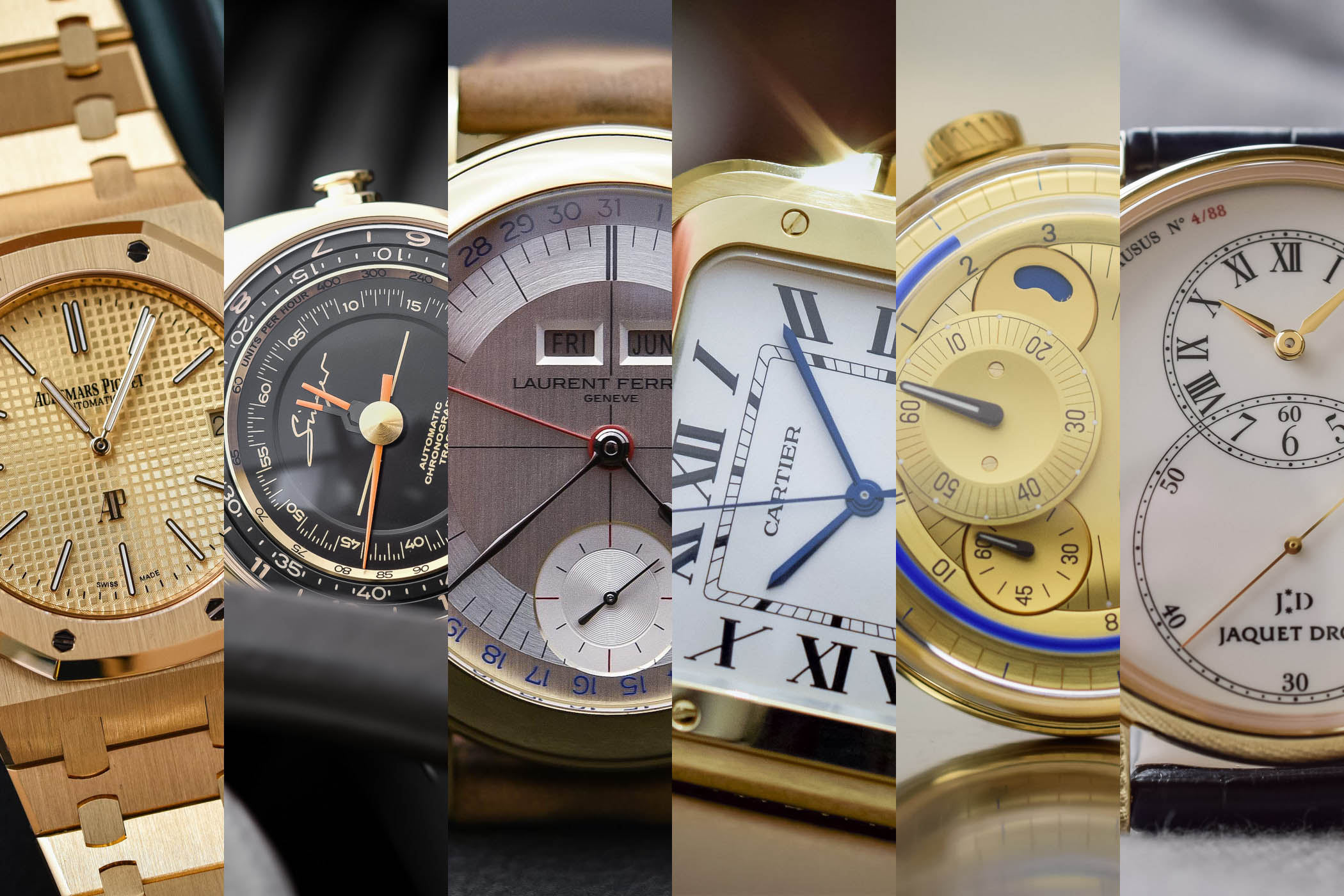 Buying Guide Yellow Gold Watches 2018