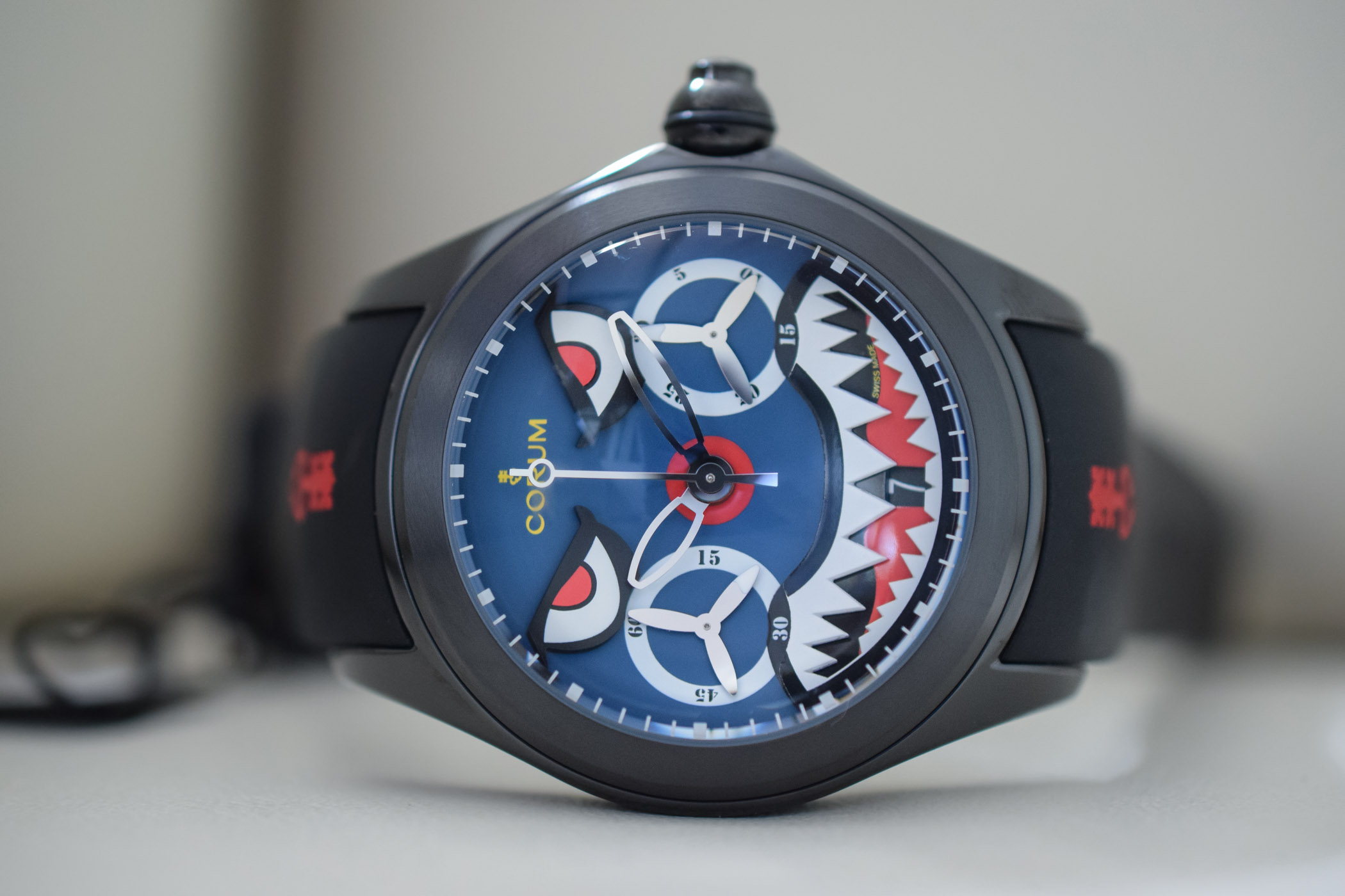 Corum Bubble Shark Mono-Pusher Chronograph