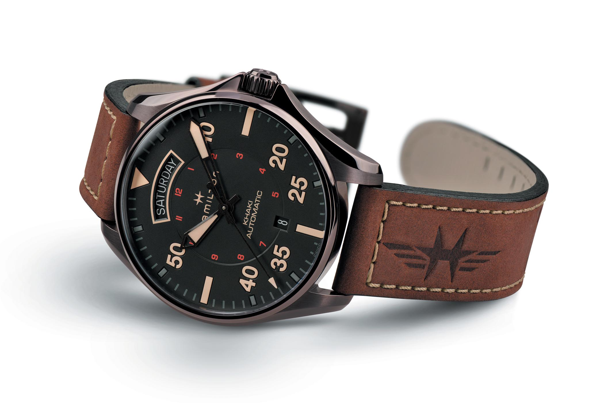 Hamilton Khaki Pilot Auto Day Date Collection - 3