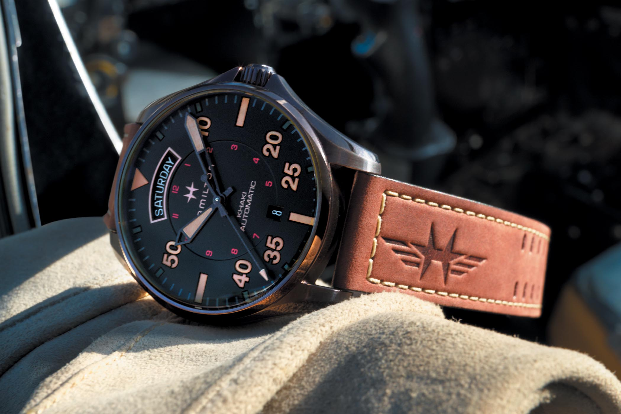Introducing - Hamilton Khaki Pilot Auto Day Date Collection (Specs ... b00cb64de2c8