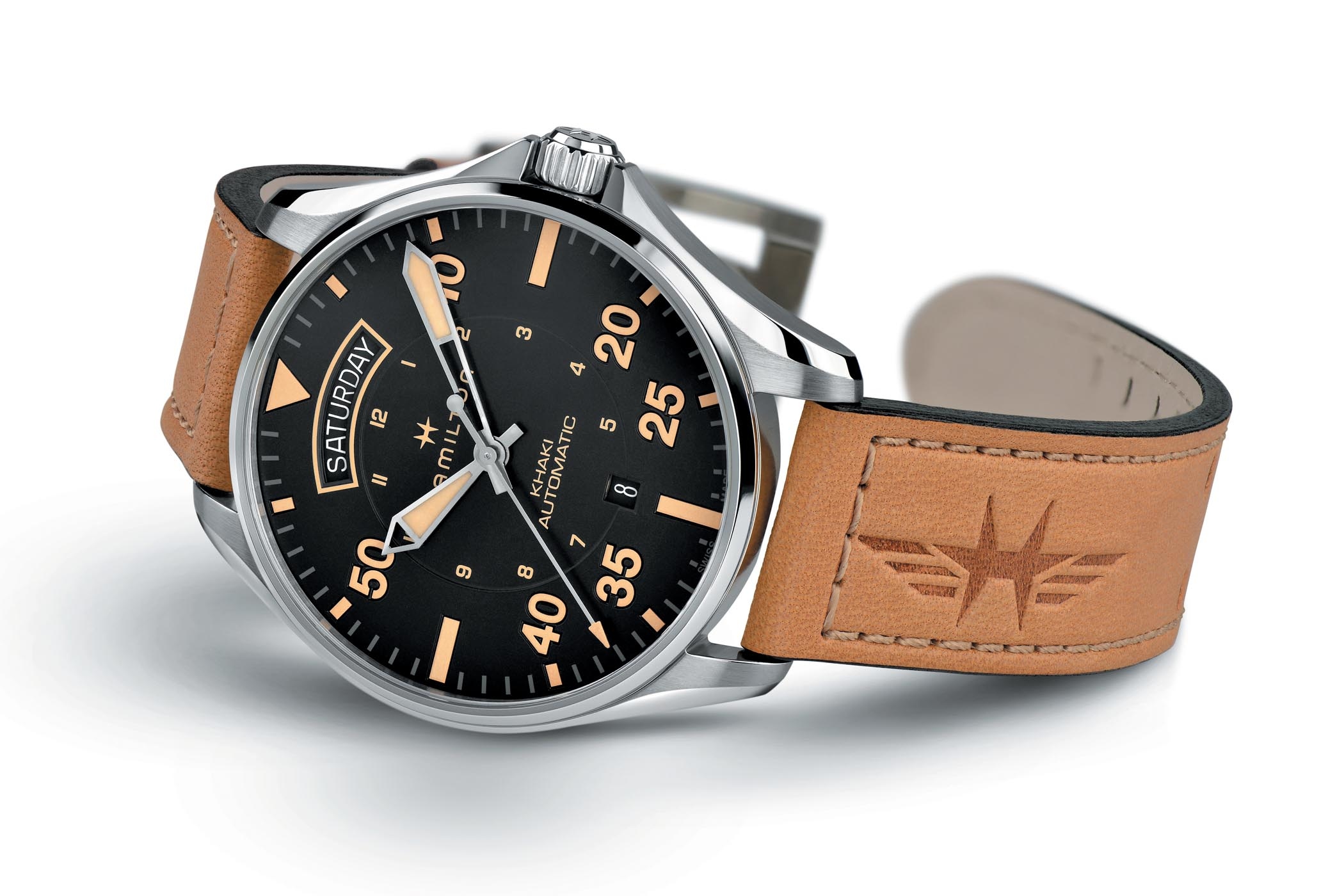 Hamilton Khaki Pilot Auto Day Date Collection - 9