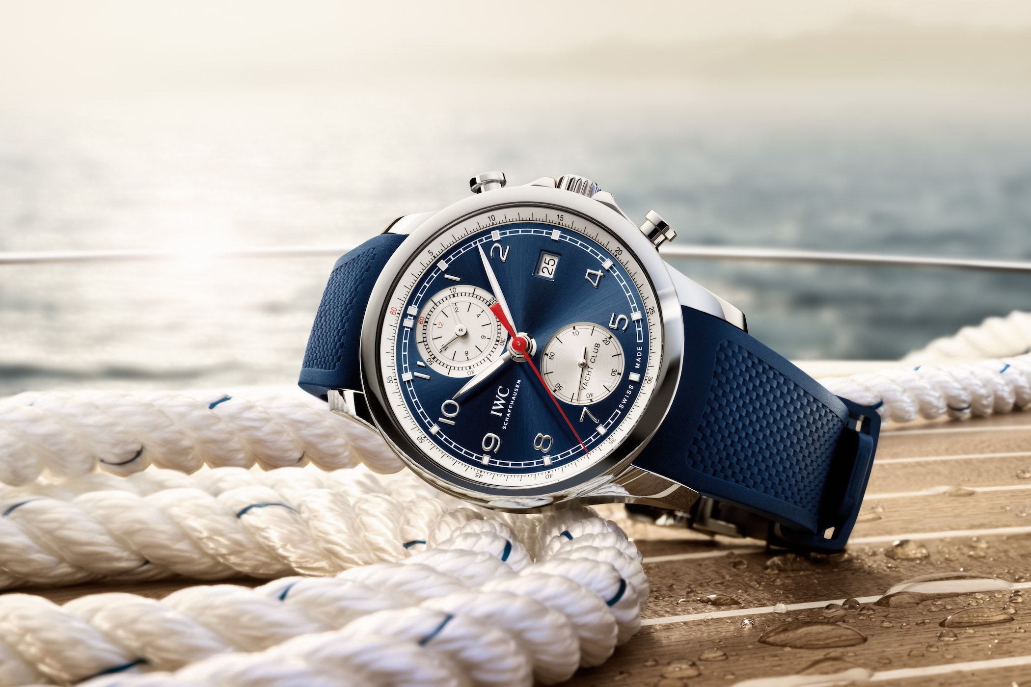 iwc debuts the portugieser yacht club chronograph summer. Black Bedroom Furniture Sets. Home Design Ideas